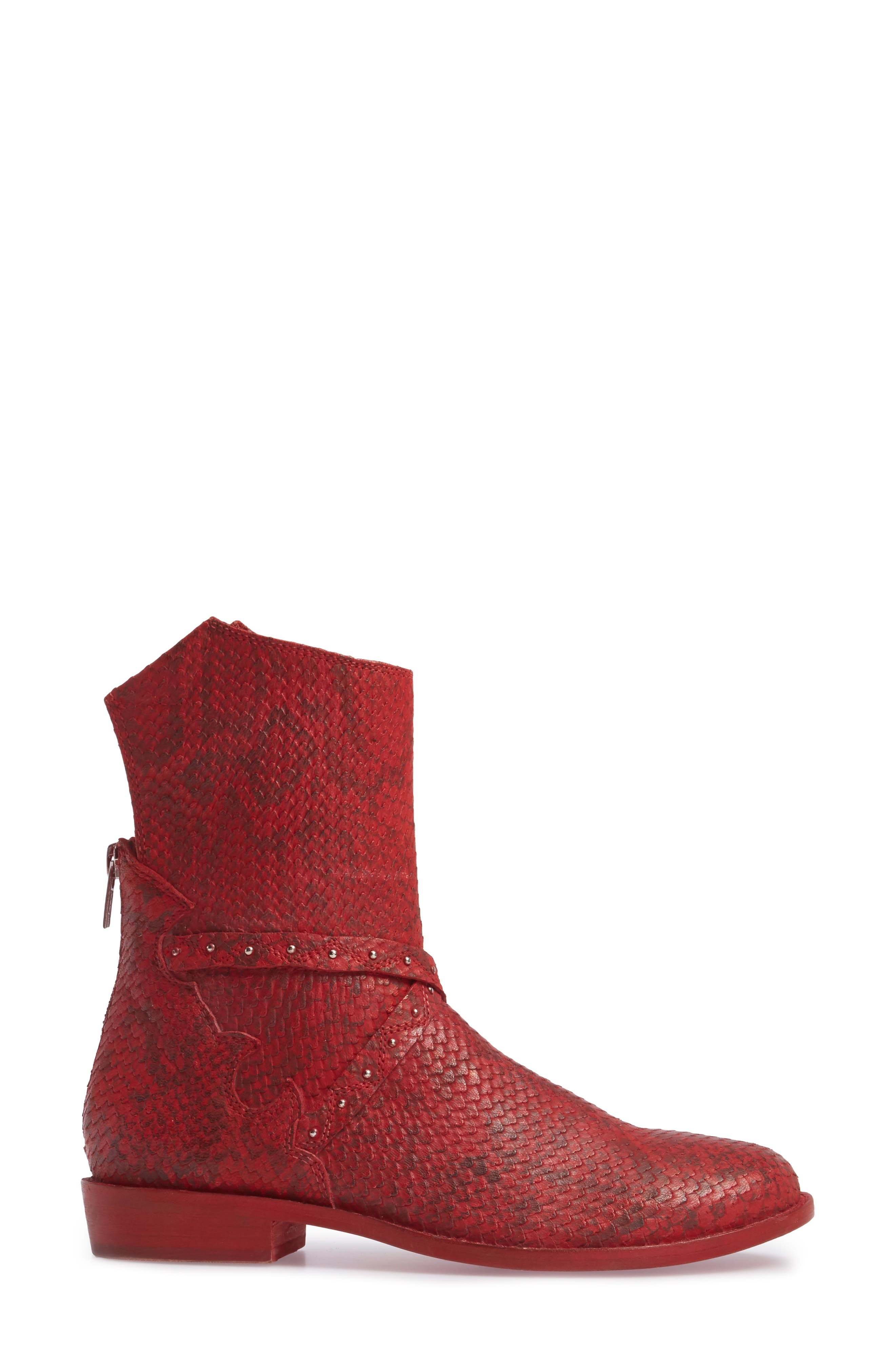 Alamosa Slouchy Bootie,                             Alternate thumbnail 9, color,
