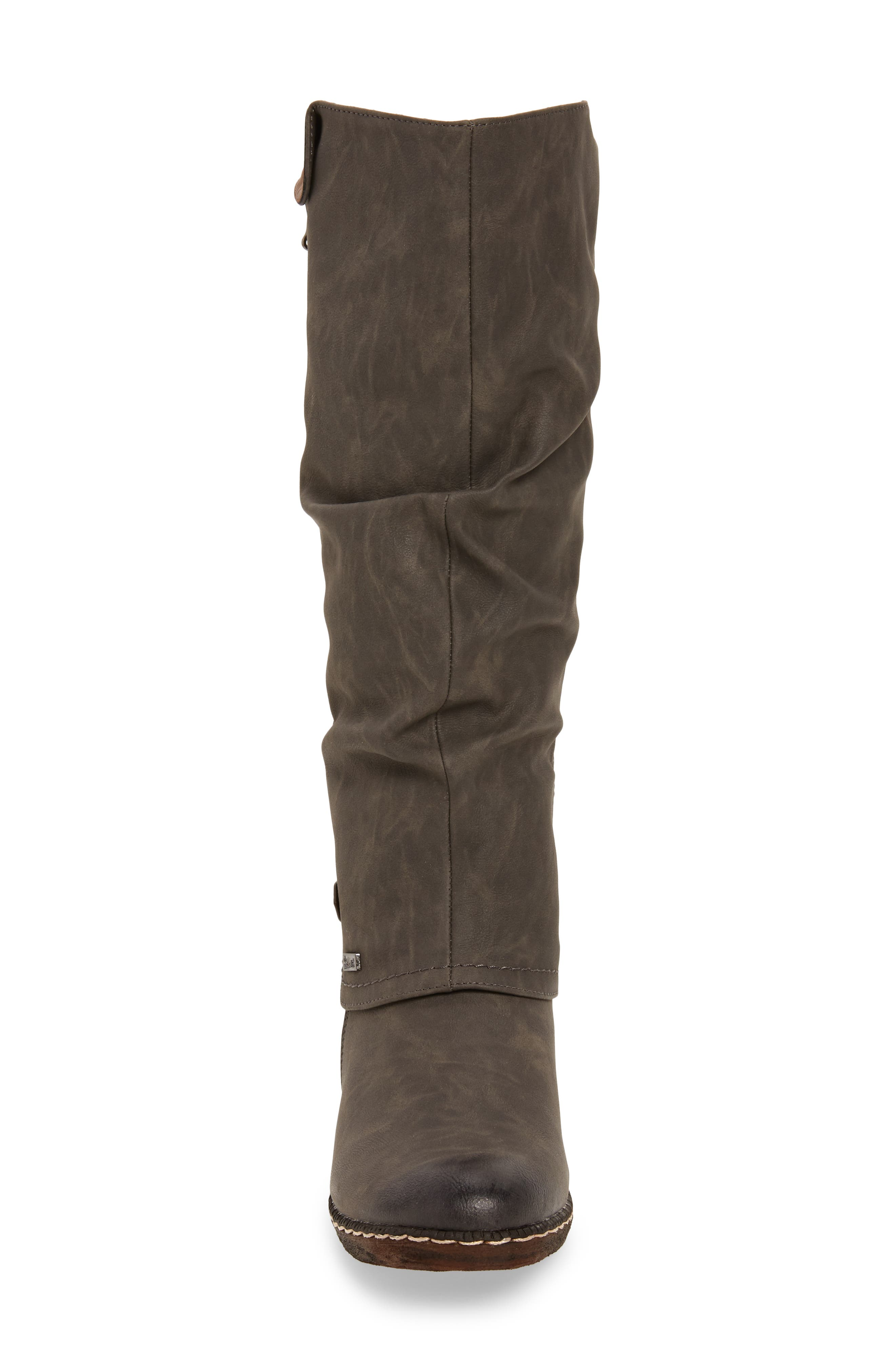 'Bernadette 55' Slightly Slouchy All Weather Boot,                             Alternate thumbnail 4, color,                             020