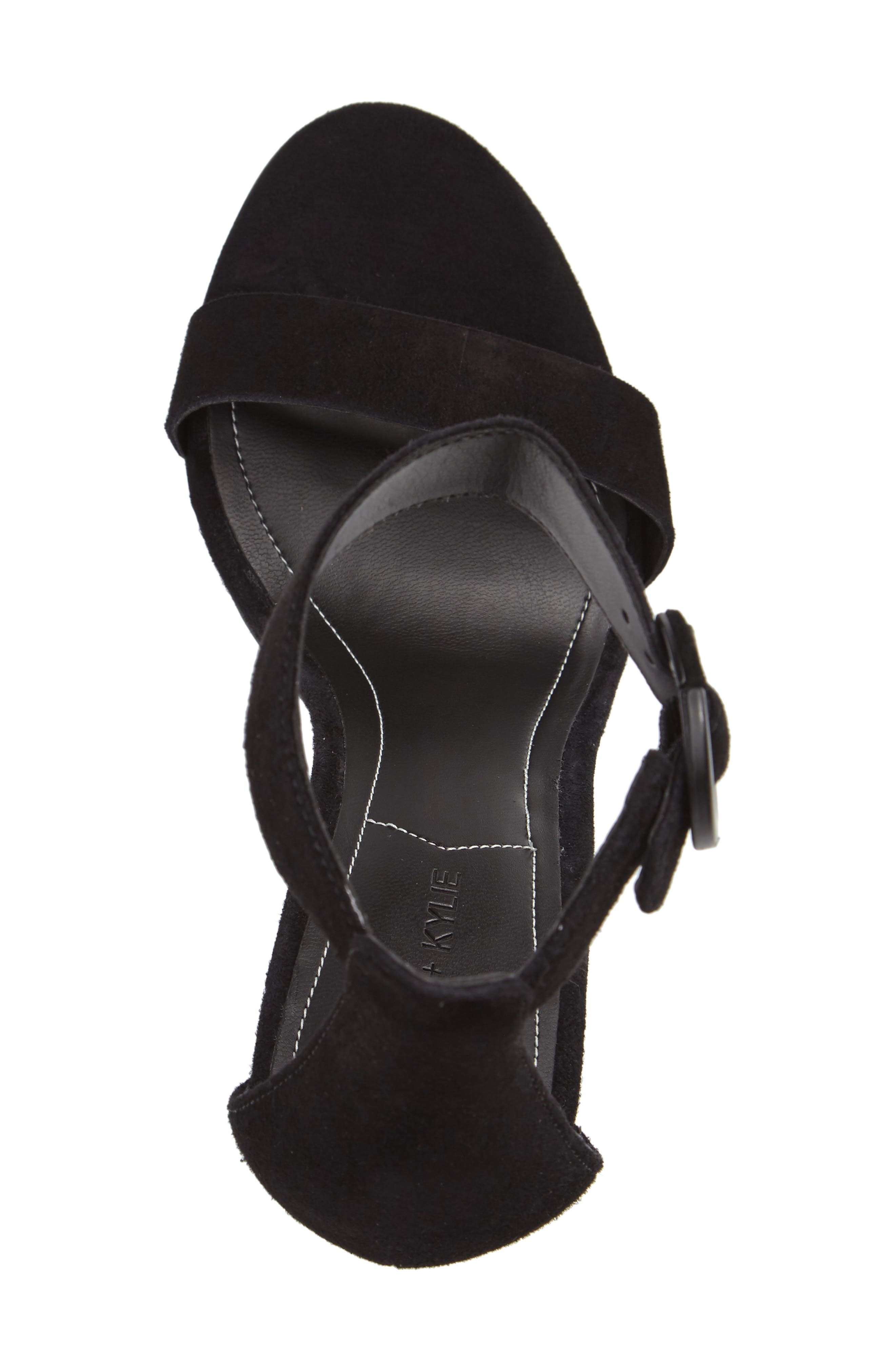 Giselle Strappy Sandal,                             Alternate thumbnail 3, color,                             001