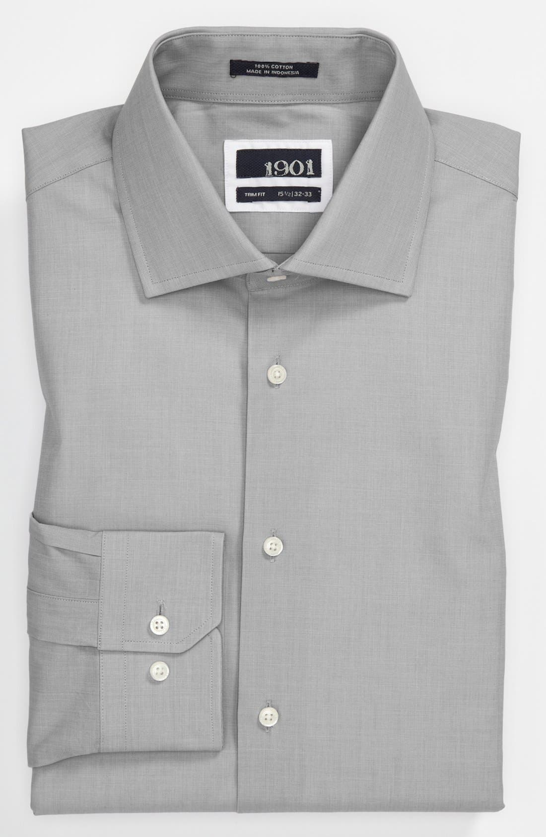 1901 Dress Shirt & Tie, Main, color, 020