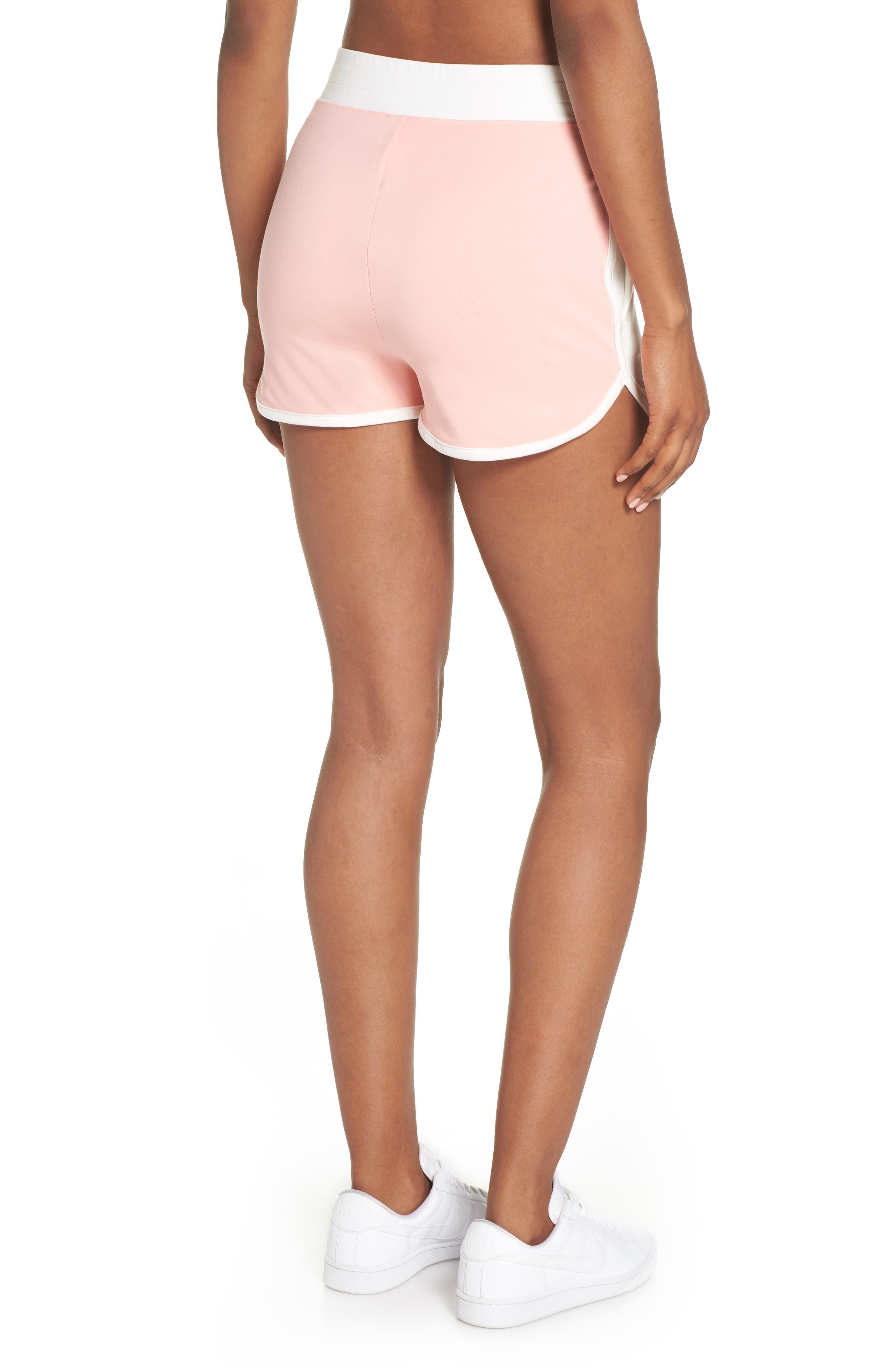 NIKE,                             Sportswear High Waist Archive Shorts,                             Alternate thumbnail 2, color,                             900
