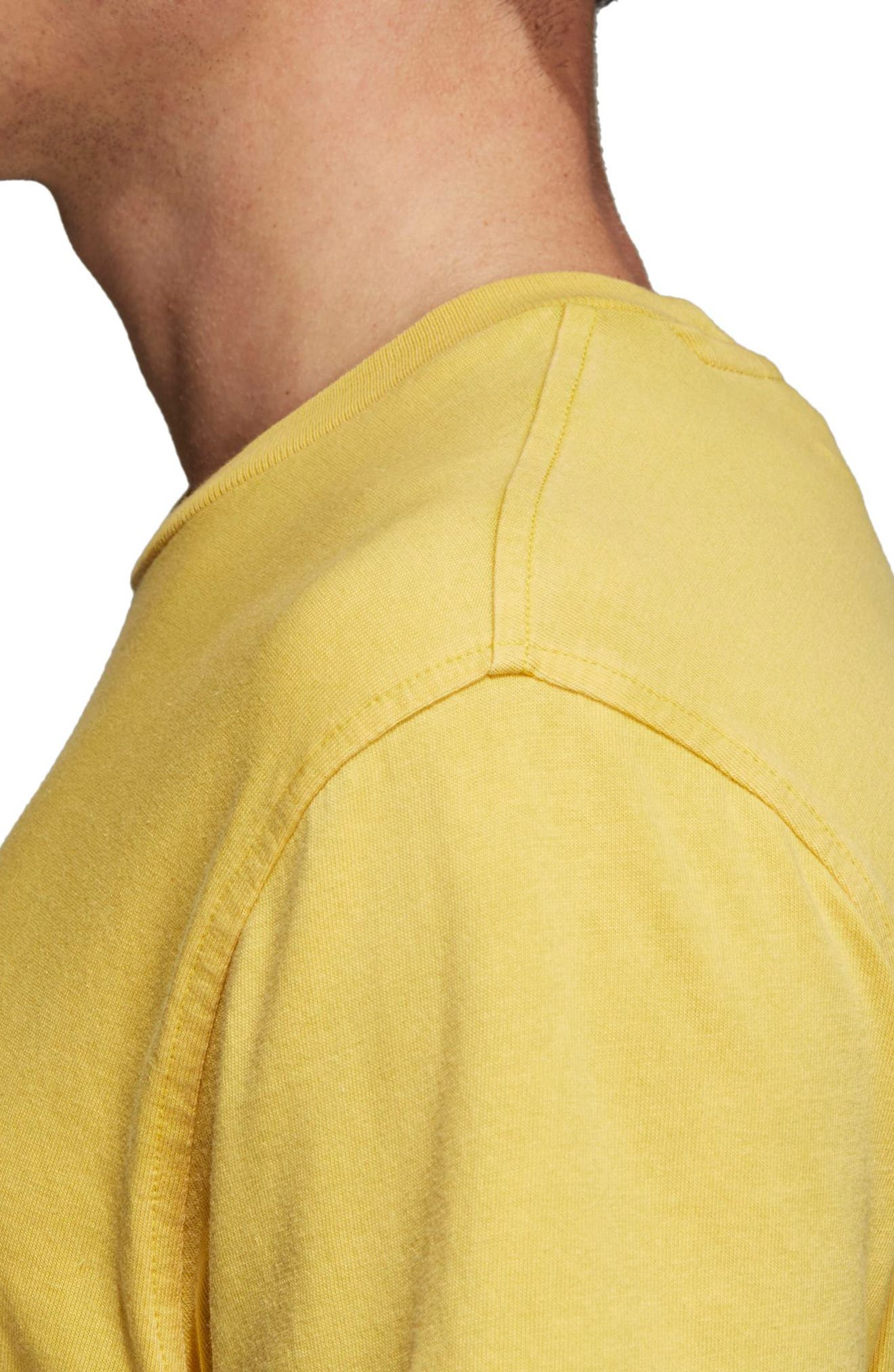 Trefoil T-Shirt,                             Alternate thumbnail 4, color,                             730