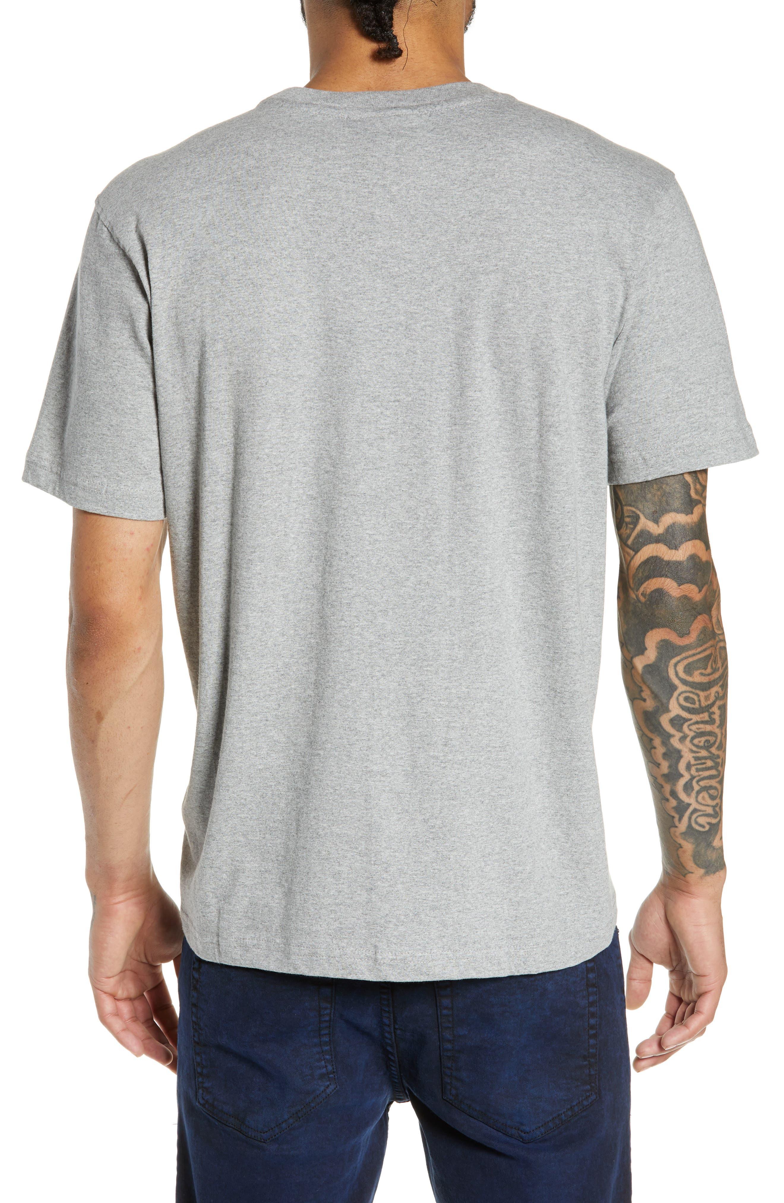 Logo T-Shirt,                             Alternate thumbnail 2, color,                             VARSITY HEATHER GREY