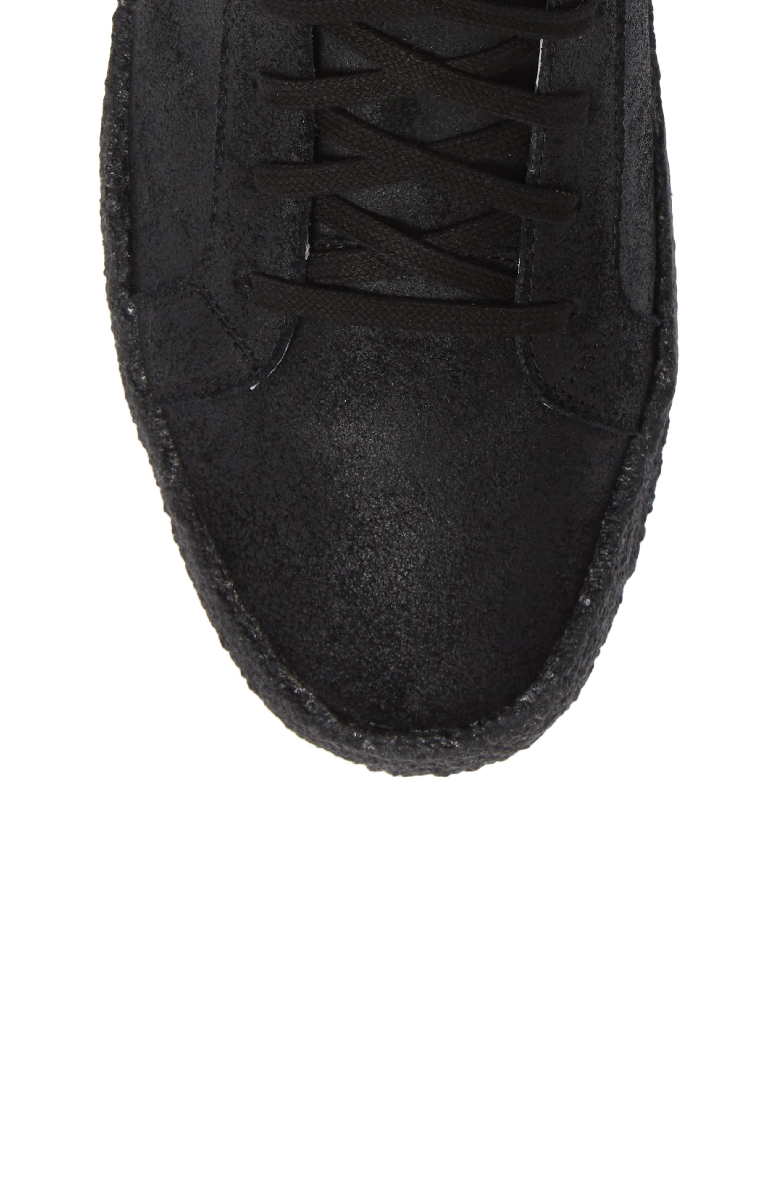 Apa High Top Sneaker,                             Alternate thumbnail 5, color,                             TRIPLE BLACK LEATHER