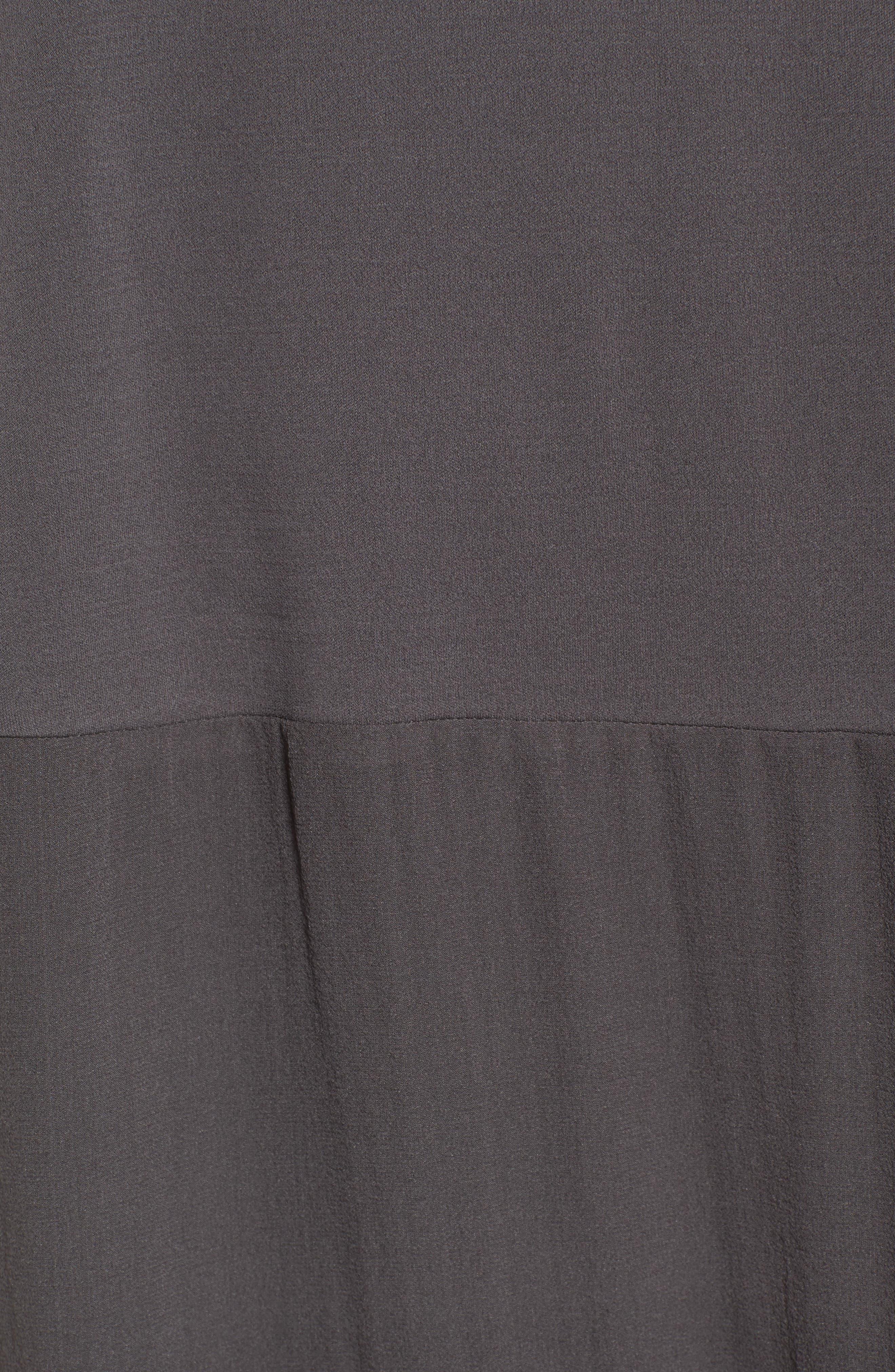 Silk Jersey & Chiffon Tunic,                             Alternate thumbnail 10, color,