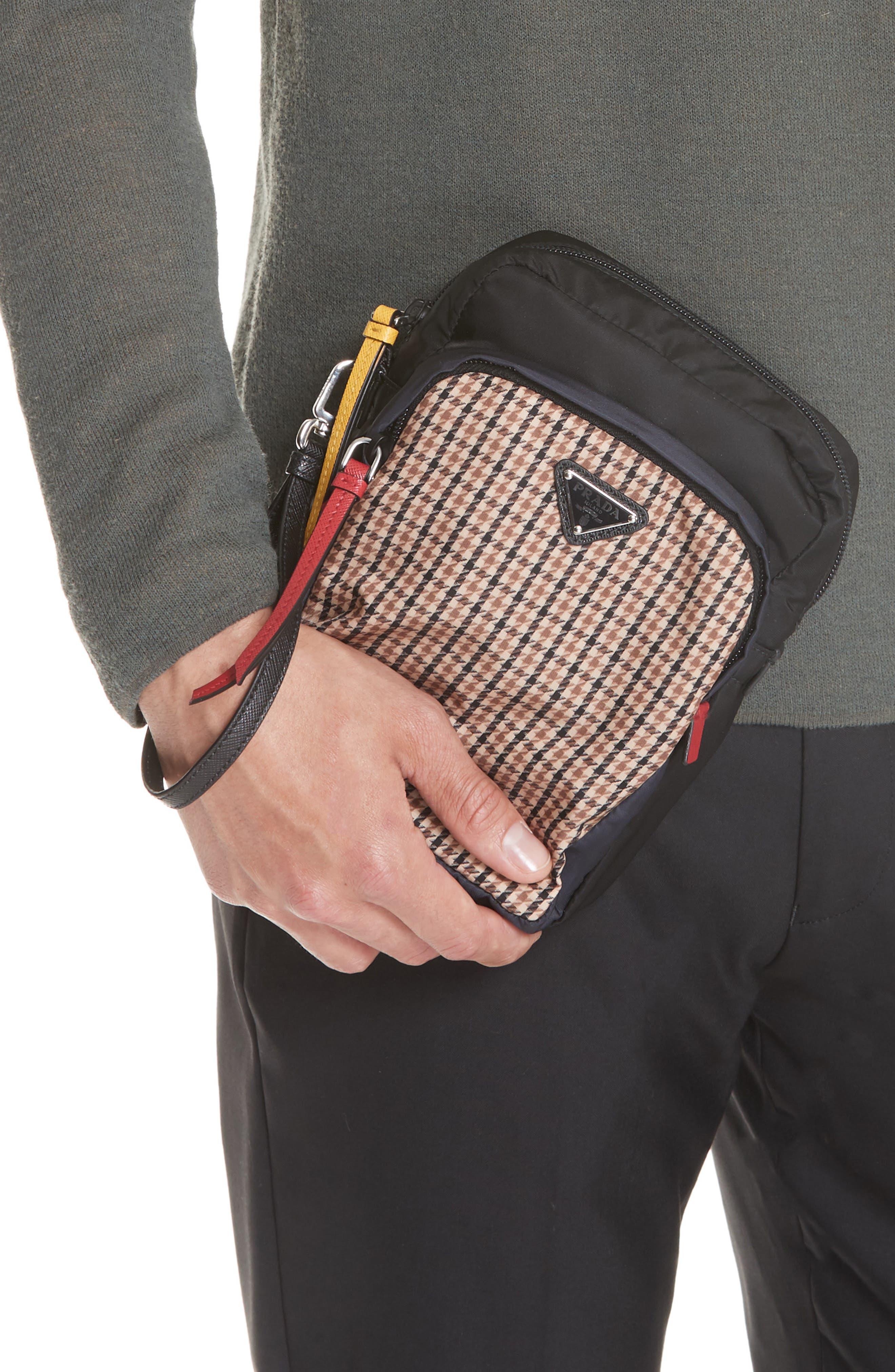 Tessudo Nylon Wrist Bag,                             Alternate thumbnail 2, color,                             CAMEL