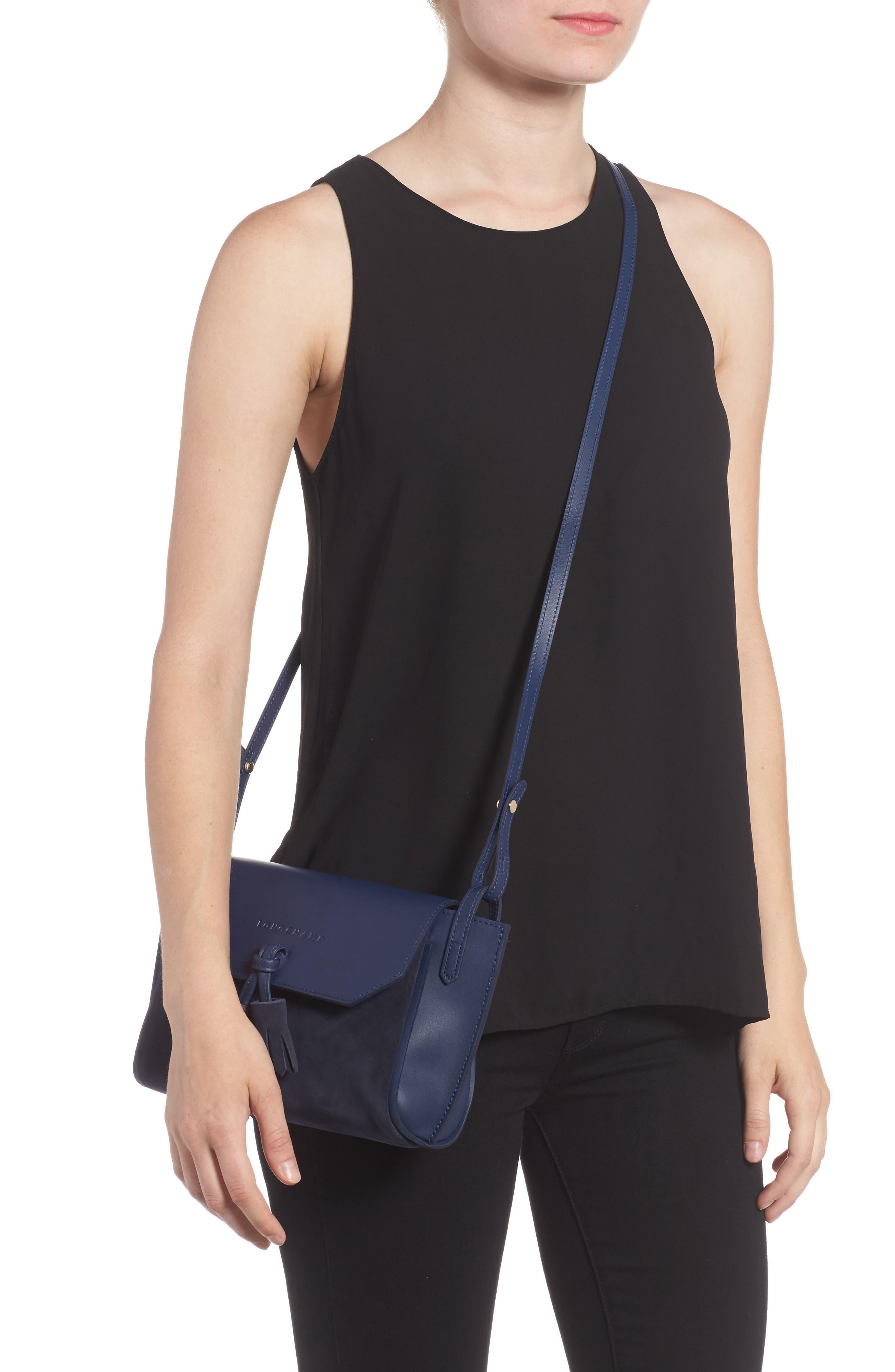 Small Penelope Leather Crossbody Bag,                             Alternate thumbnail 2, color,                             400