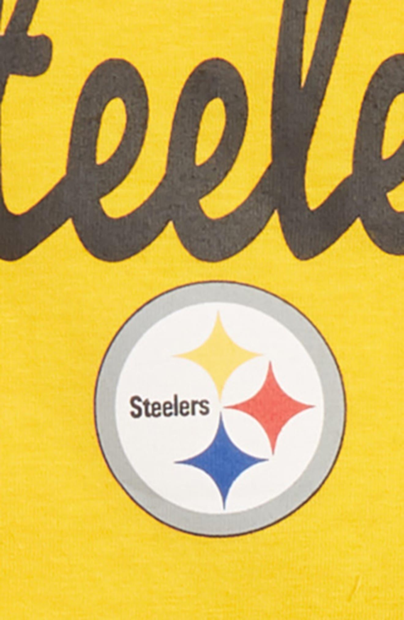 NFL Team Logo Top & Leggings Set,                             Alternate thumbnail 2, color,                             NEW GOLD