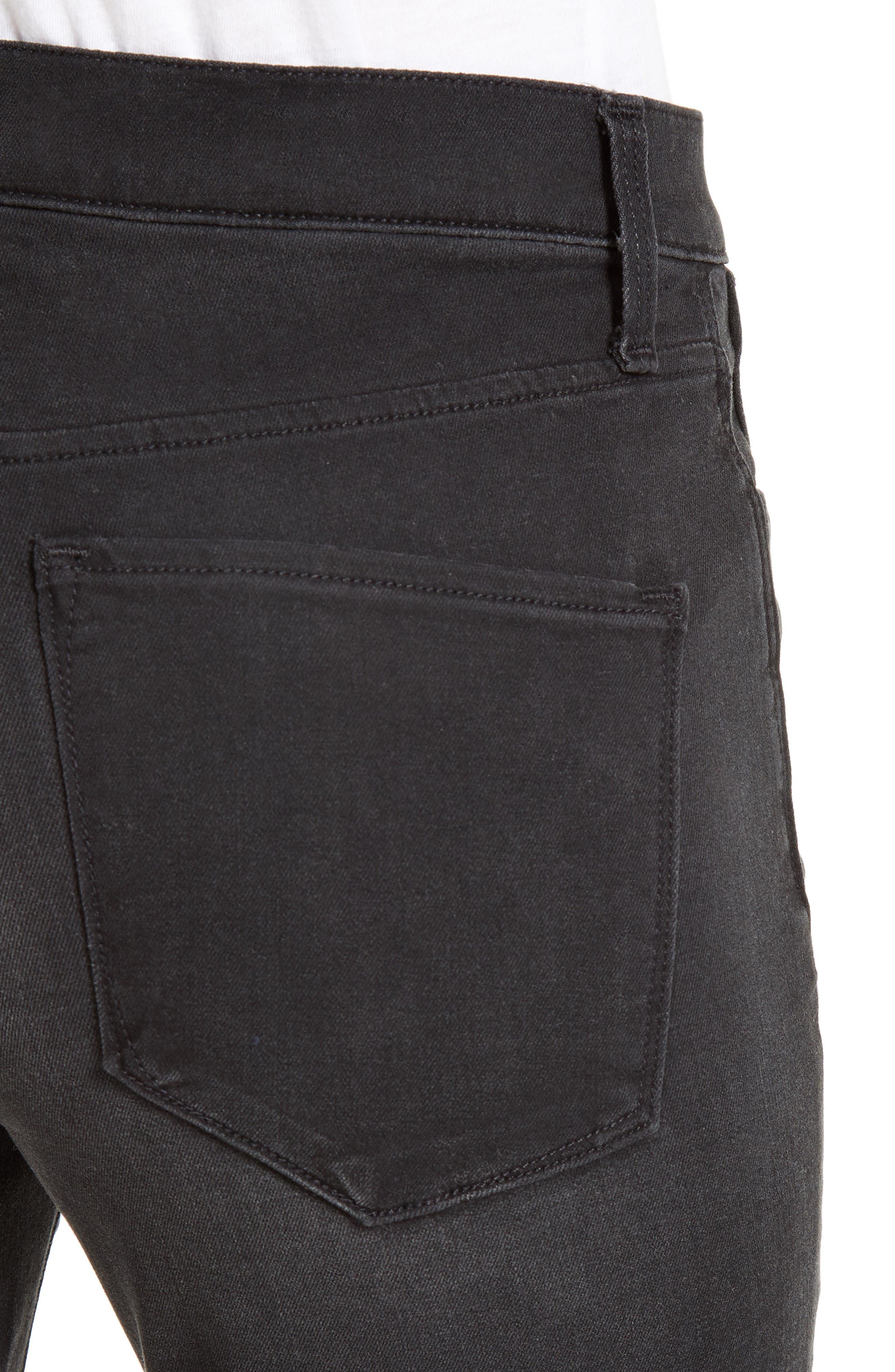 The Skinny Stretch Denim Jeans,                             Alternate thumbnail 4, color,                             001