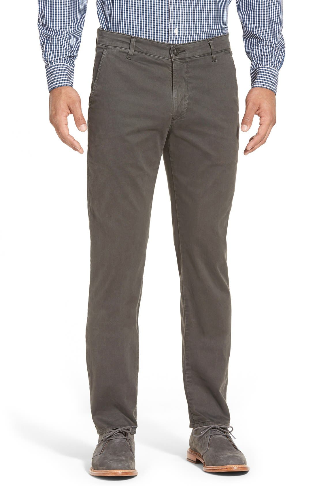 'The Lux' Tailored Straight Leg Chinos,                             Main thumbnail 7, color,