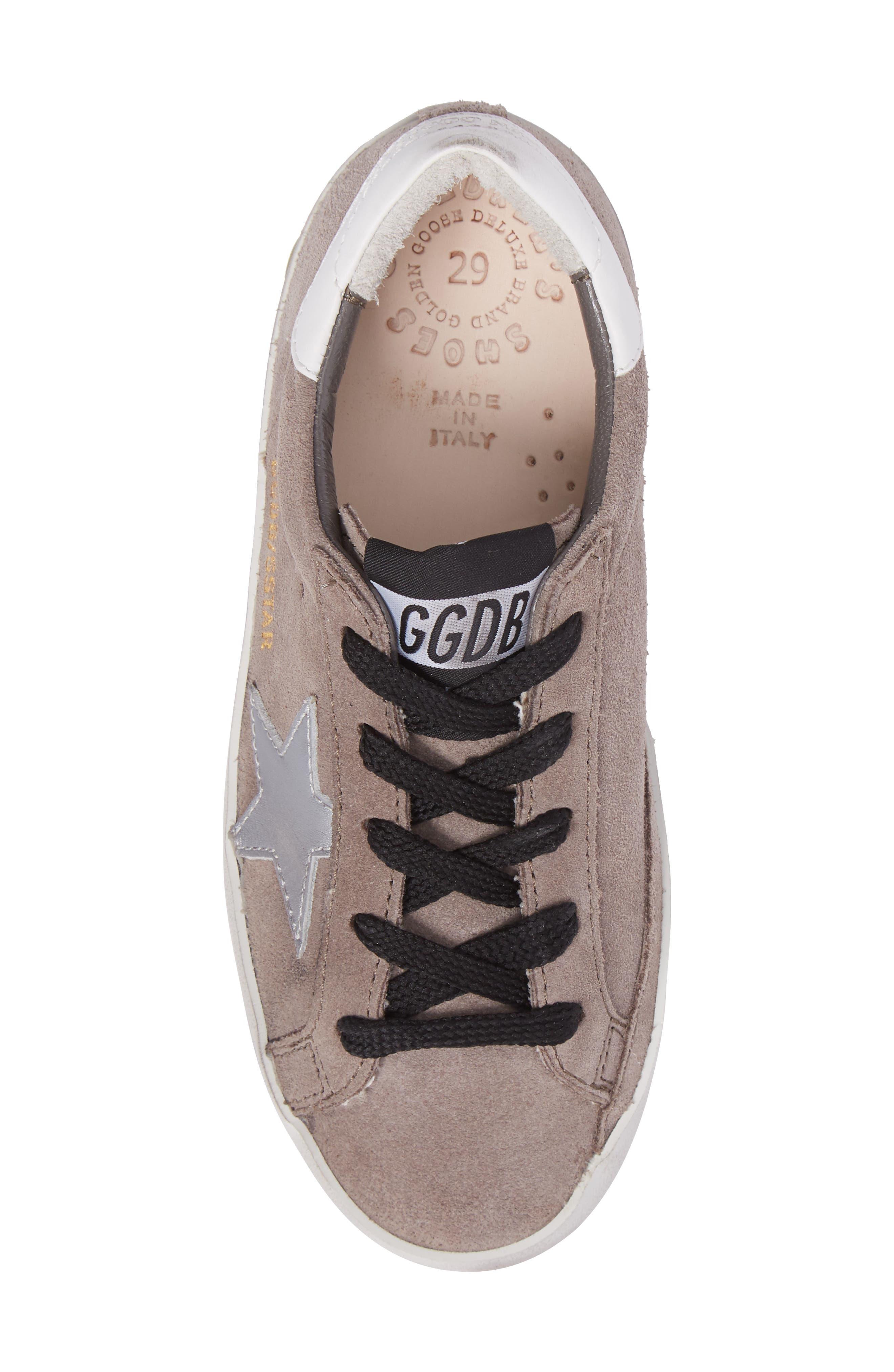 Superstar Low Top Sneaker,                             Alternate thumbnail 5, color,                             030