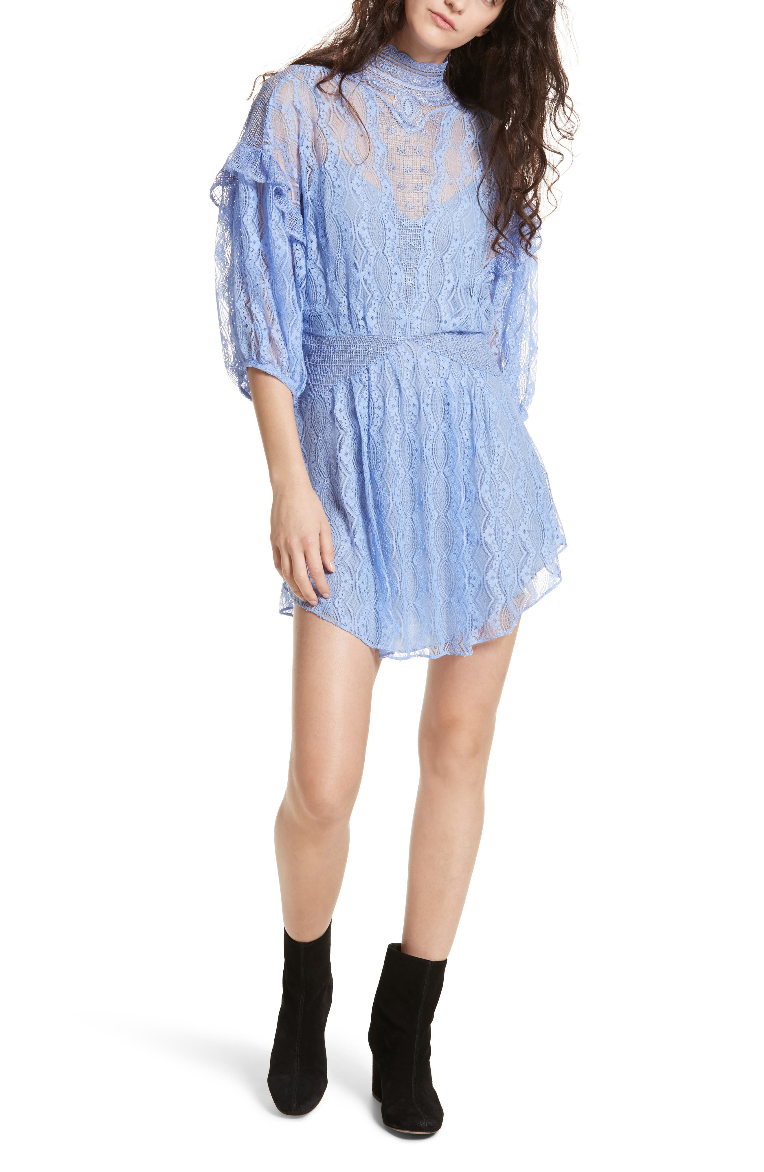 Bittersweet Dolman Sleeve Minidress,                             Main thumbnail 1, color,                             400
