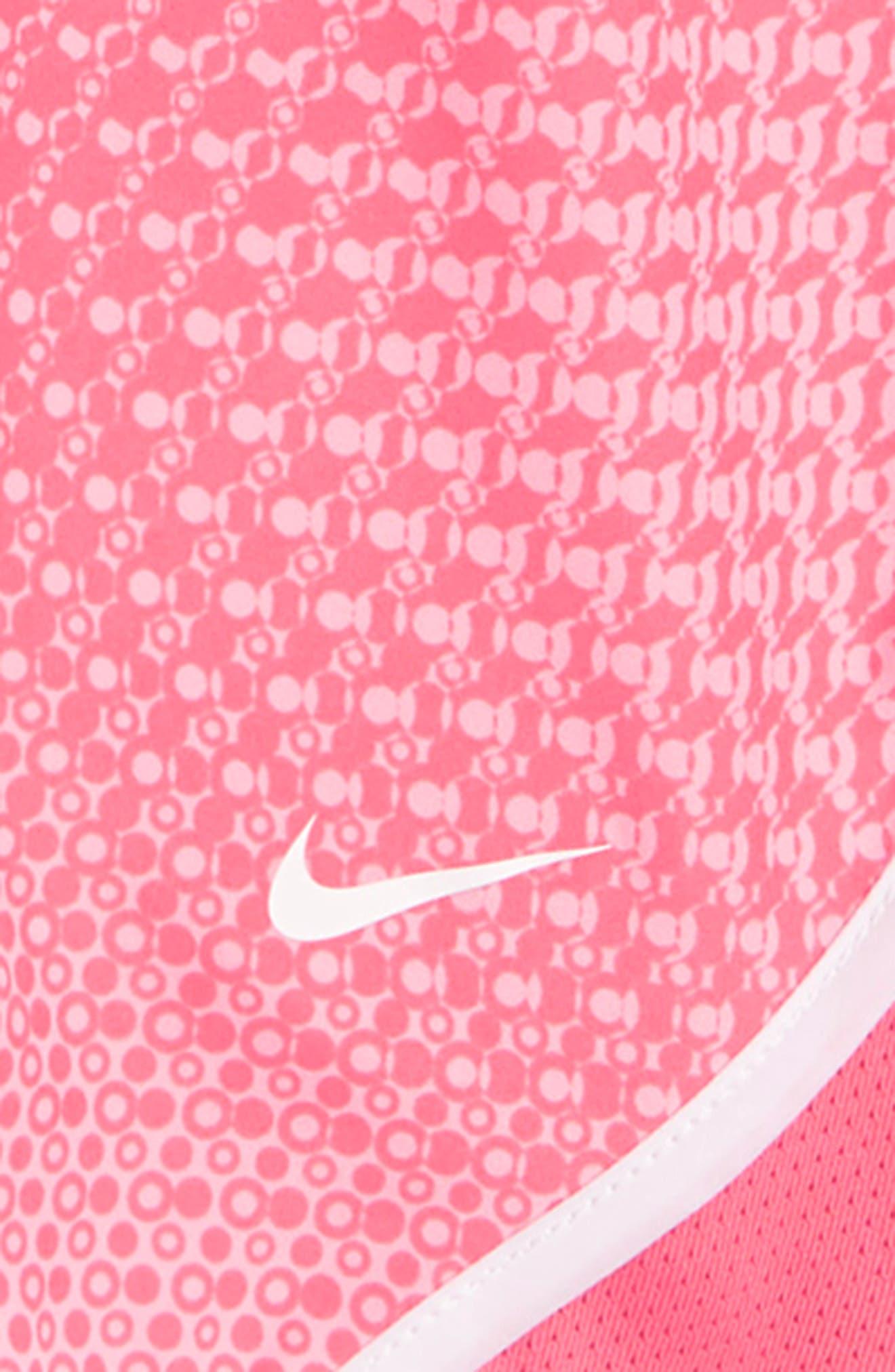 Dry Tempo Shorts,                             Alternate thumbnail 3, color,                             PINK NEBULA/ WHITE