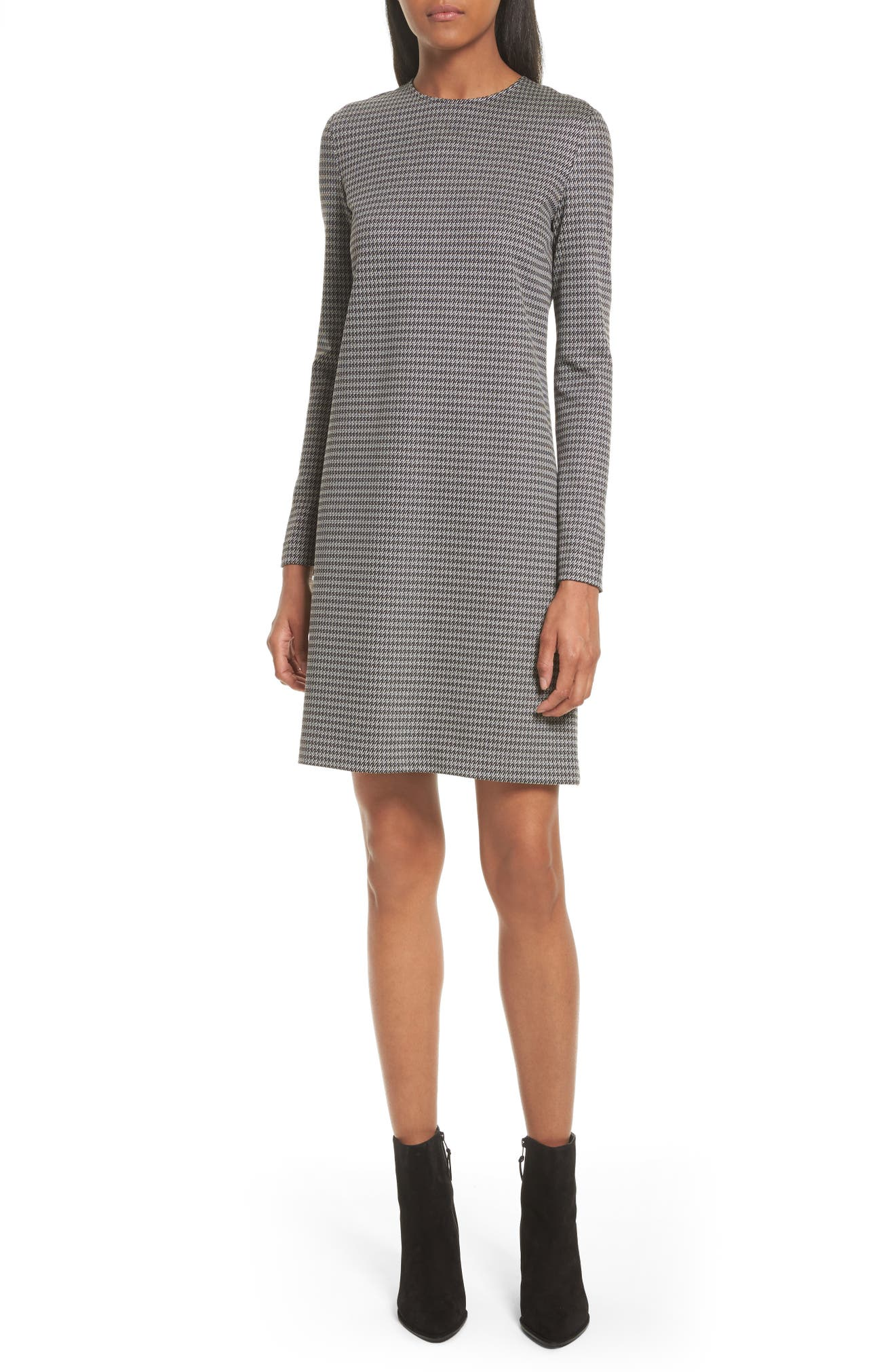Theory Wynter Houndstooth Knit Dress | Nordstrom