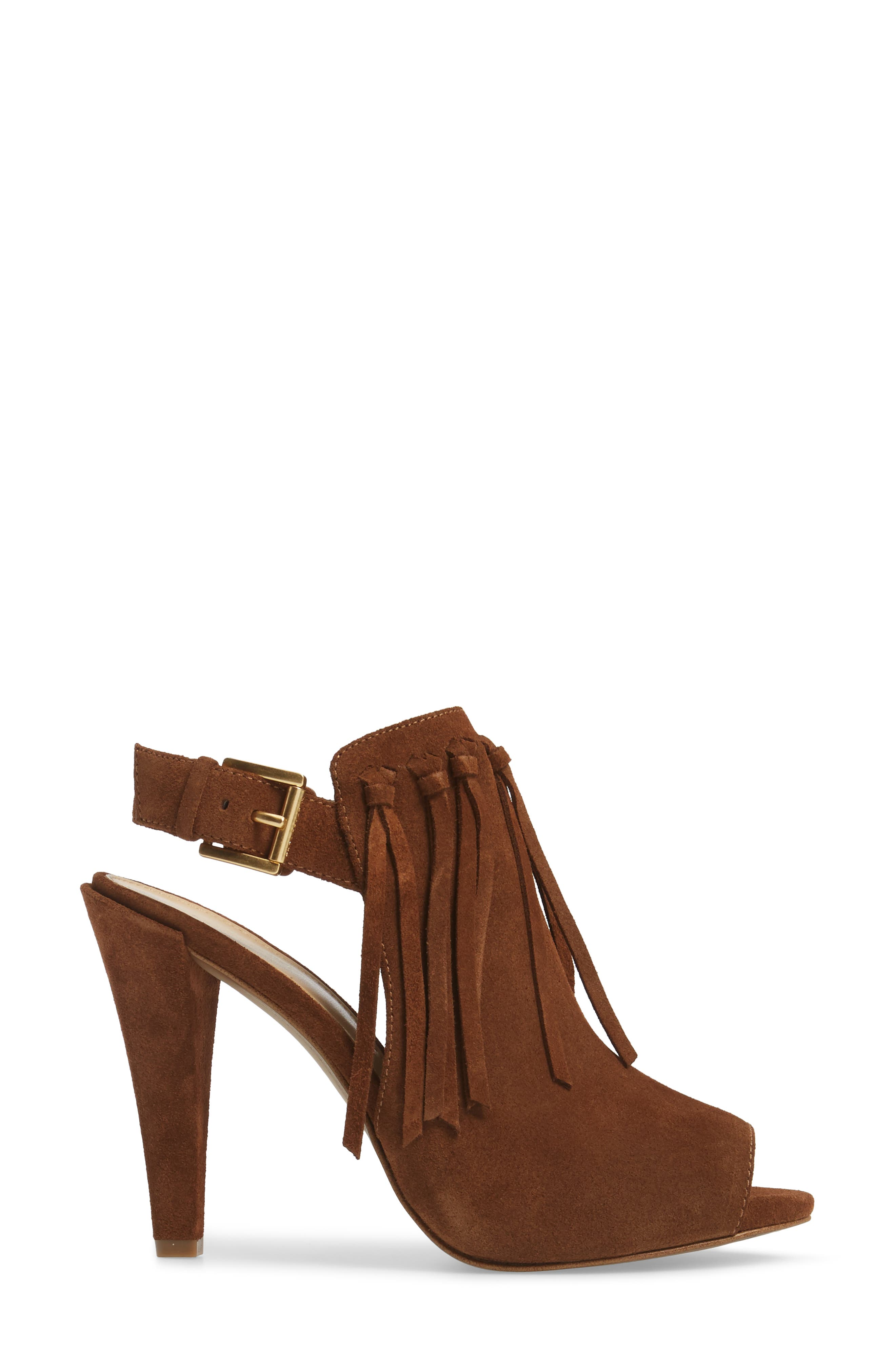 Kassidy Open Toe Bootie,                             Alternate thumbnail 6, color,