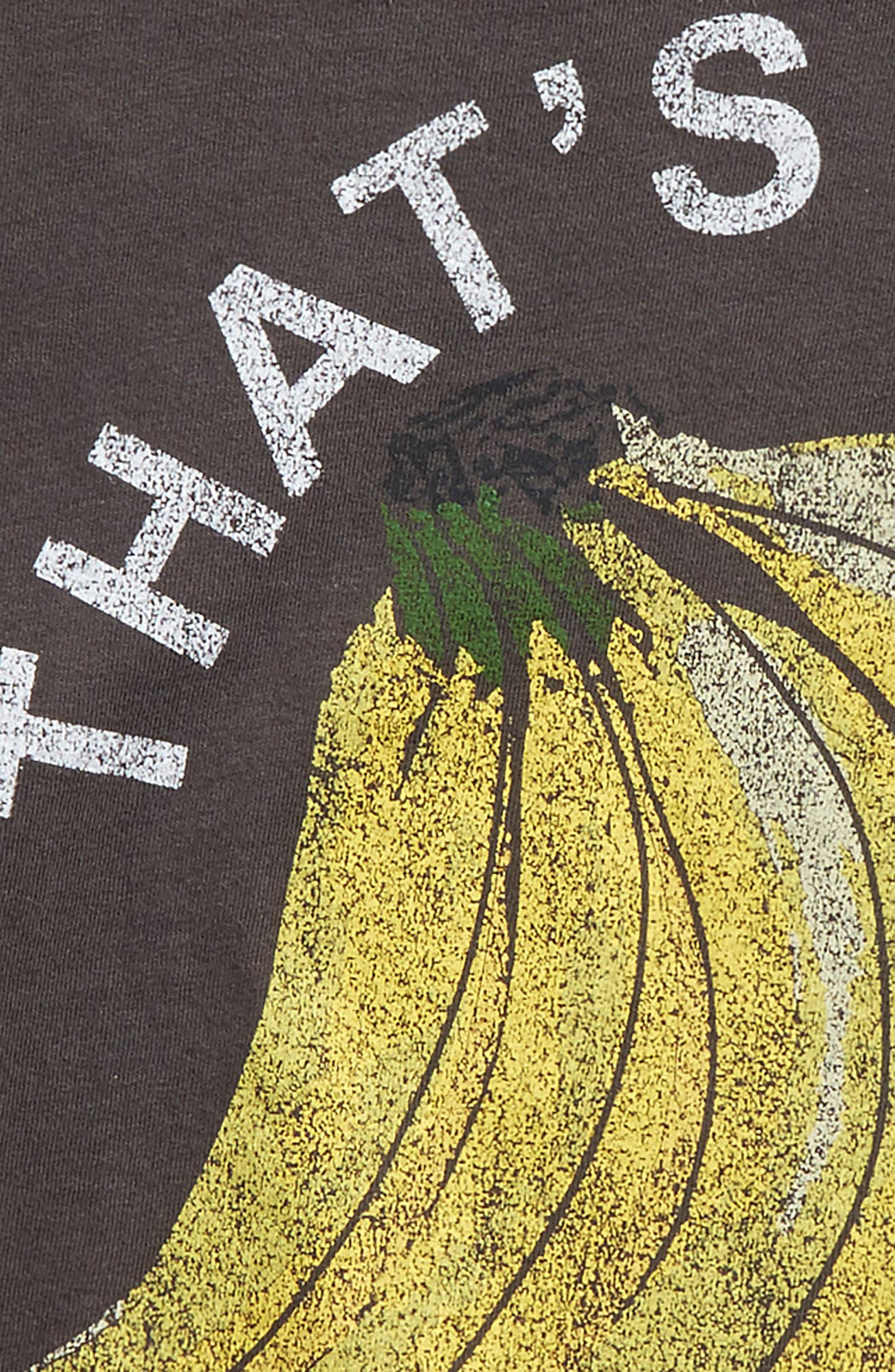 That's Bananas Graphic Tee,                             Alternate thumbnail 4, color,