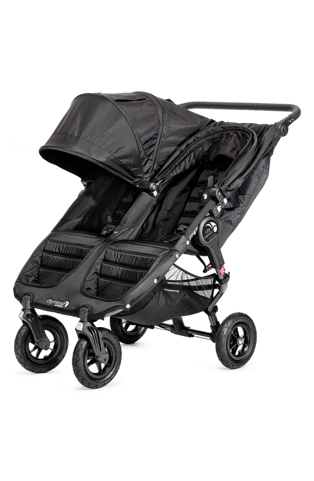 'City Mini GT<sup>™</sup>' Double Stroller,                             Alternate thumbnail 3, color,                             001