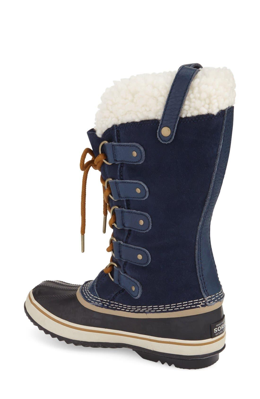 Joan of Arctic Genuine Shearling Waterproof Boot,                             Alternate thumbnail 12, color,