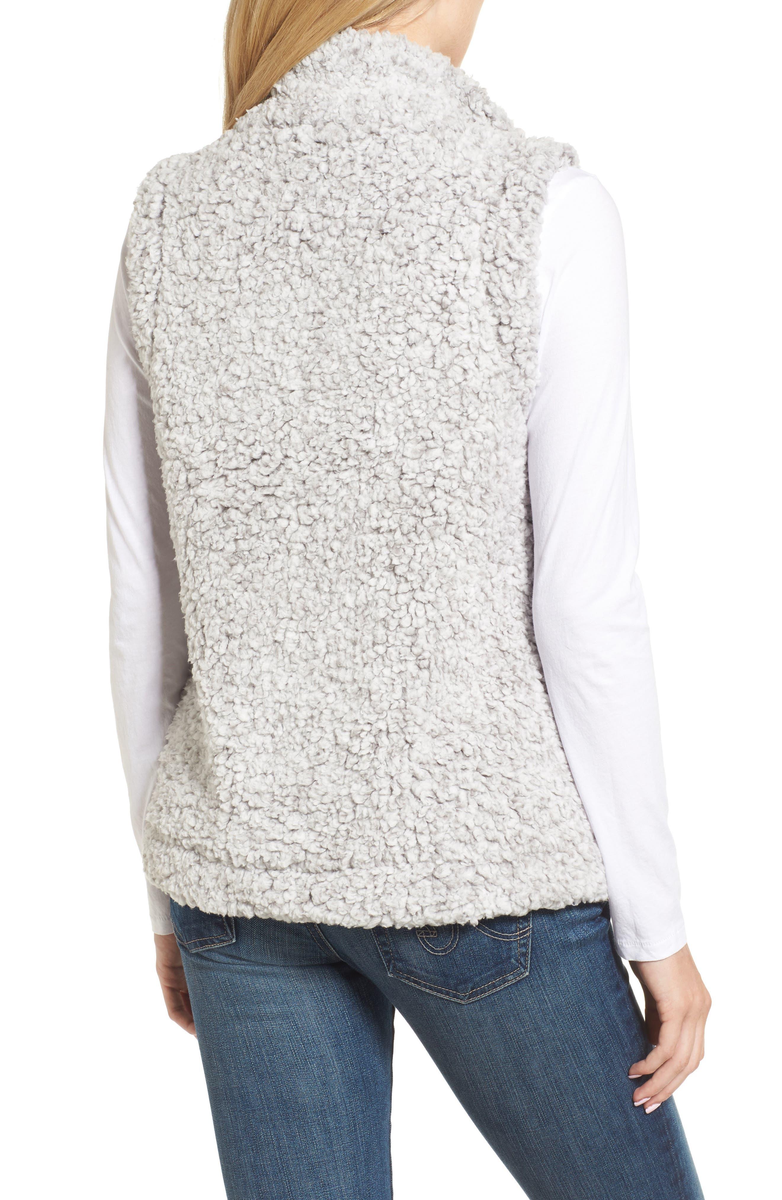 Frosty High Pile Fleece Vest,                             Alternate thumbnail 2, color,                             063