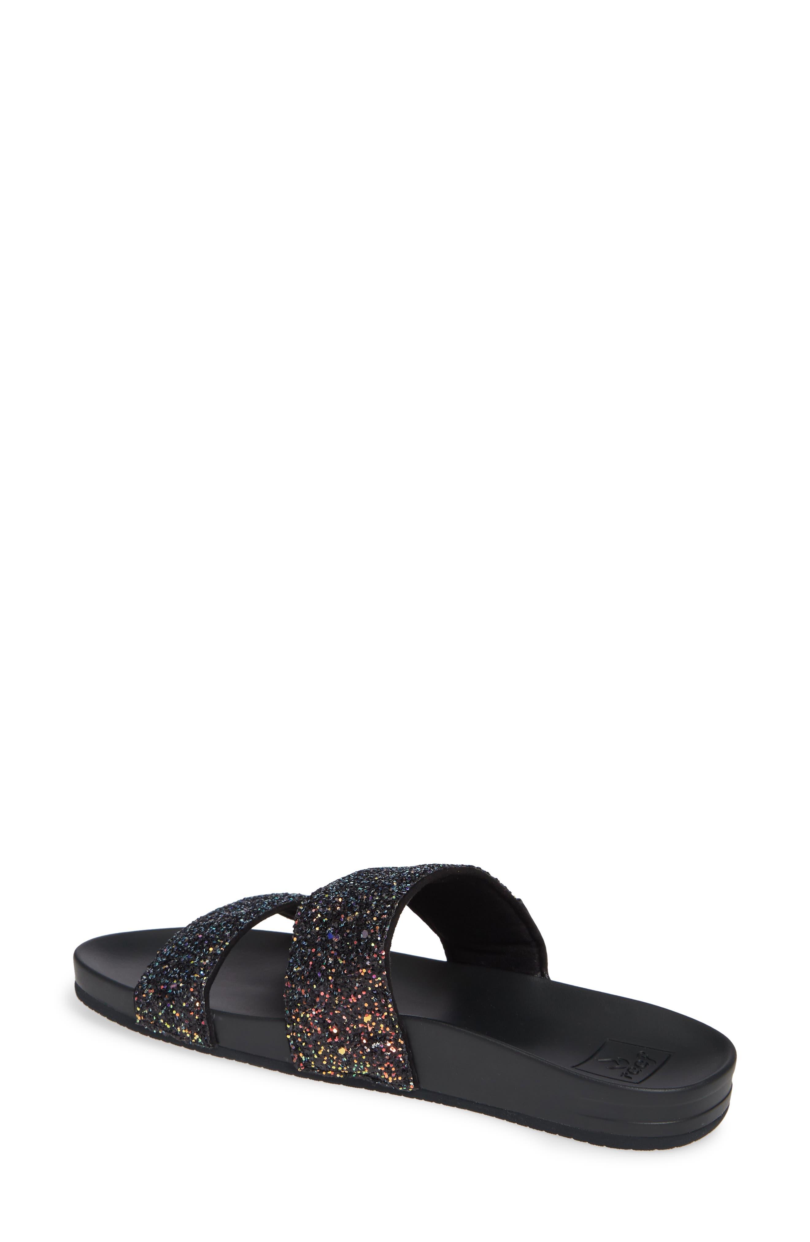 REEF,                             Cushion Bounce Vista Slide Sandal,                             Alternate thumbnail 2, color,                             POP ROCKS