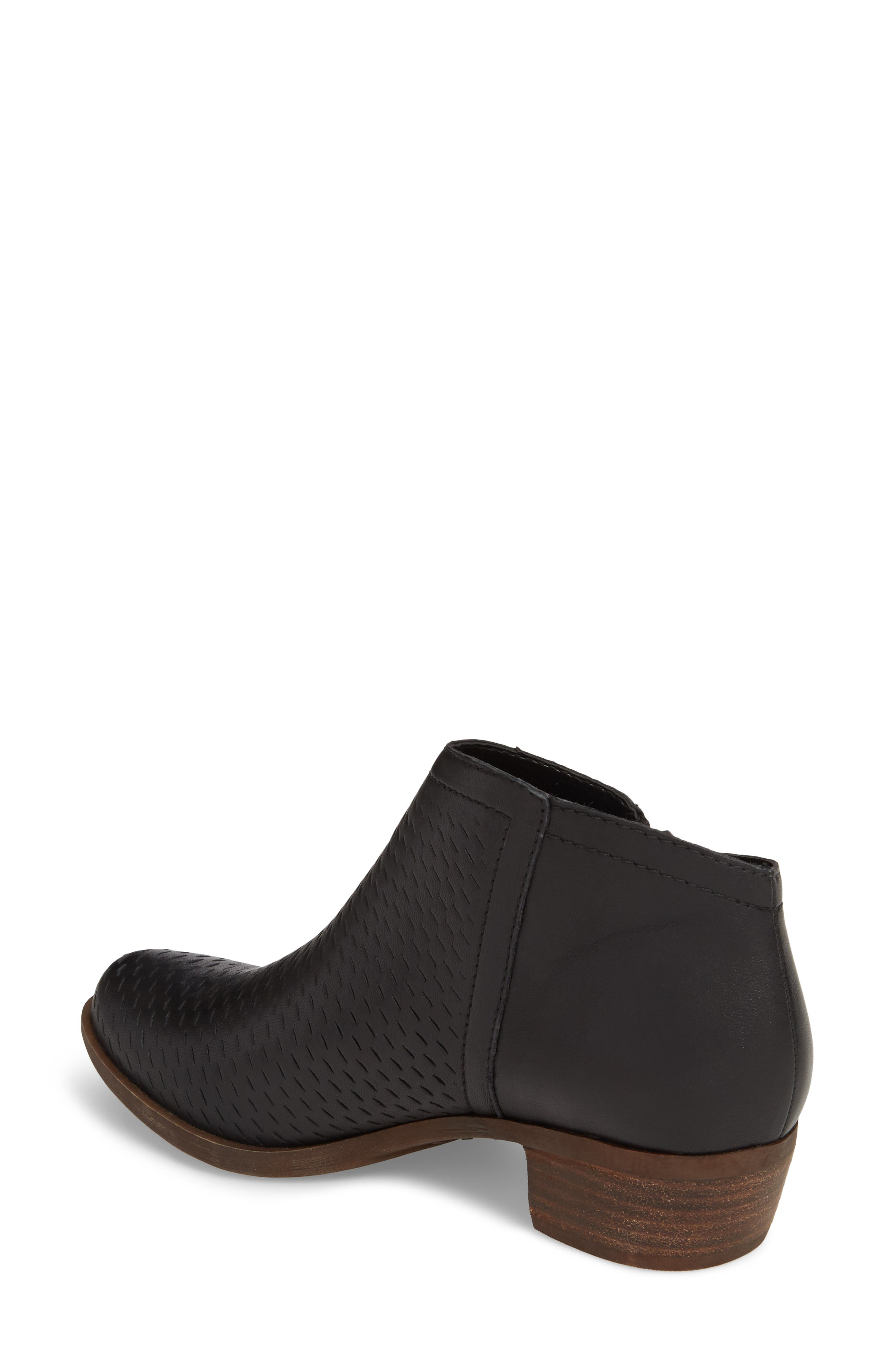 Brielley Perforated Bootie,                             Alternate thumbnail 2, color,                             002