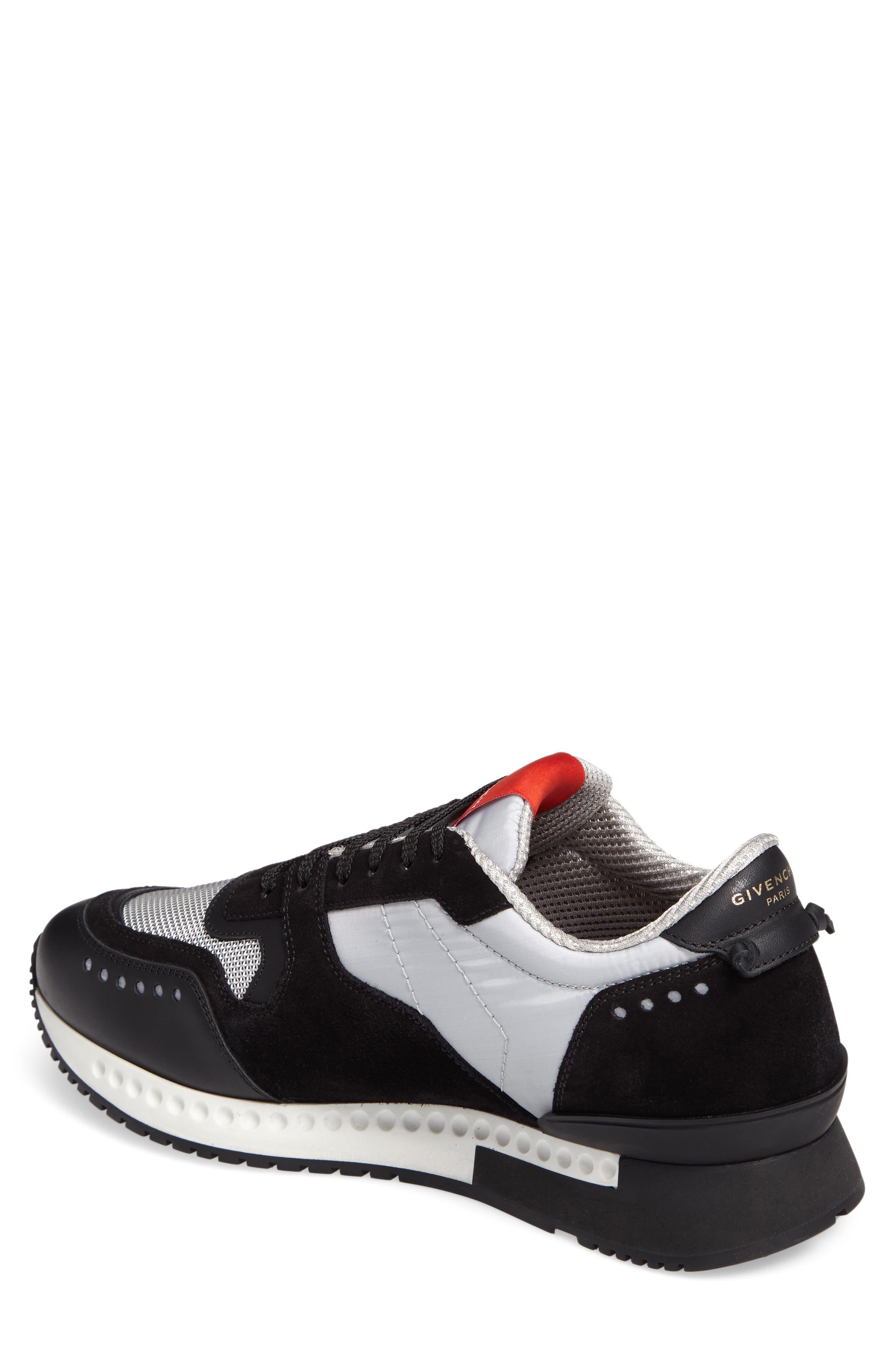 Mixed-Finish Sneaker,                             Alternate thumbnail 2, color,                             008