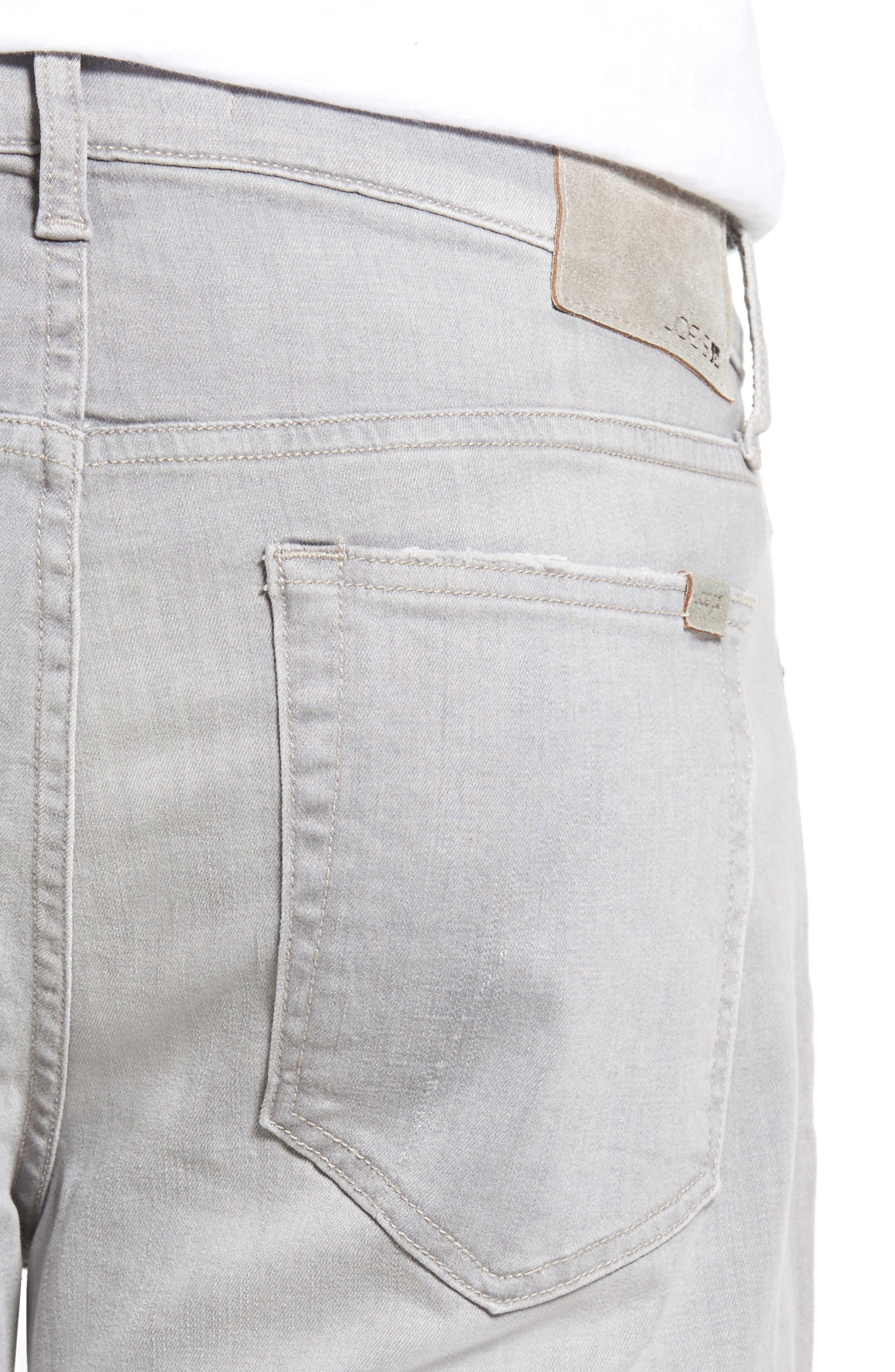 Classic Straight Leg Jeans,                             Alternate thumbnail 4, color,                             050