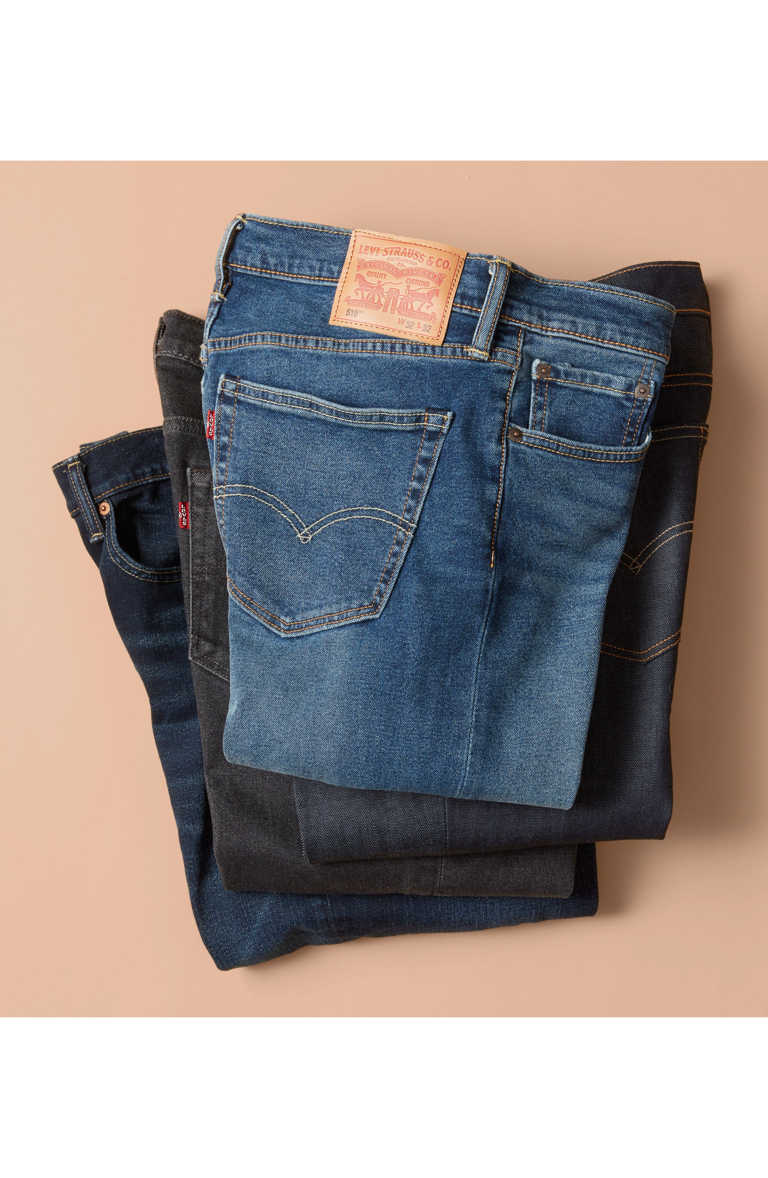 541<sup>™</sup> Athletic Straight Leg Jeans,                             Alternate thumbnail 8, color,                             425