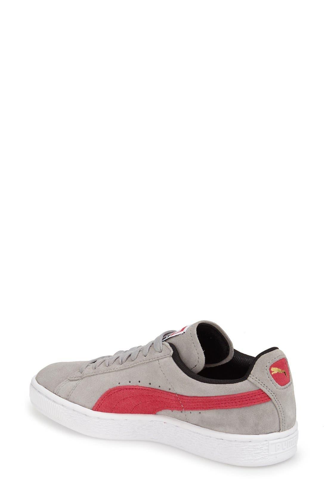 Suede Sneaker,                             Alternate thumbnail 37, color,