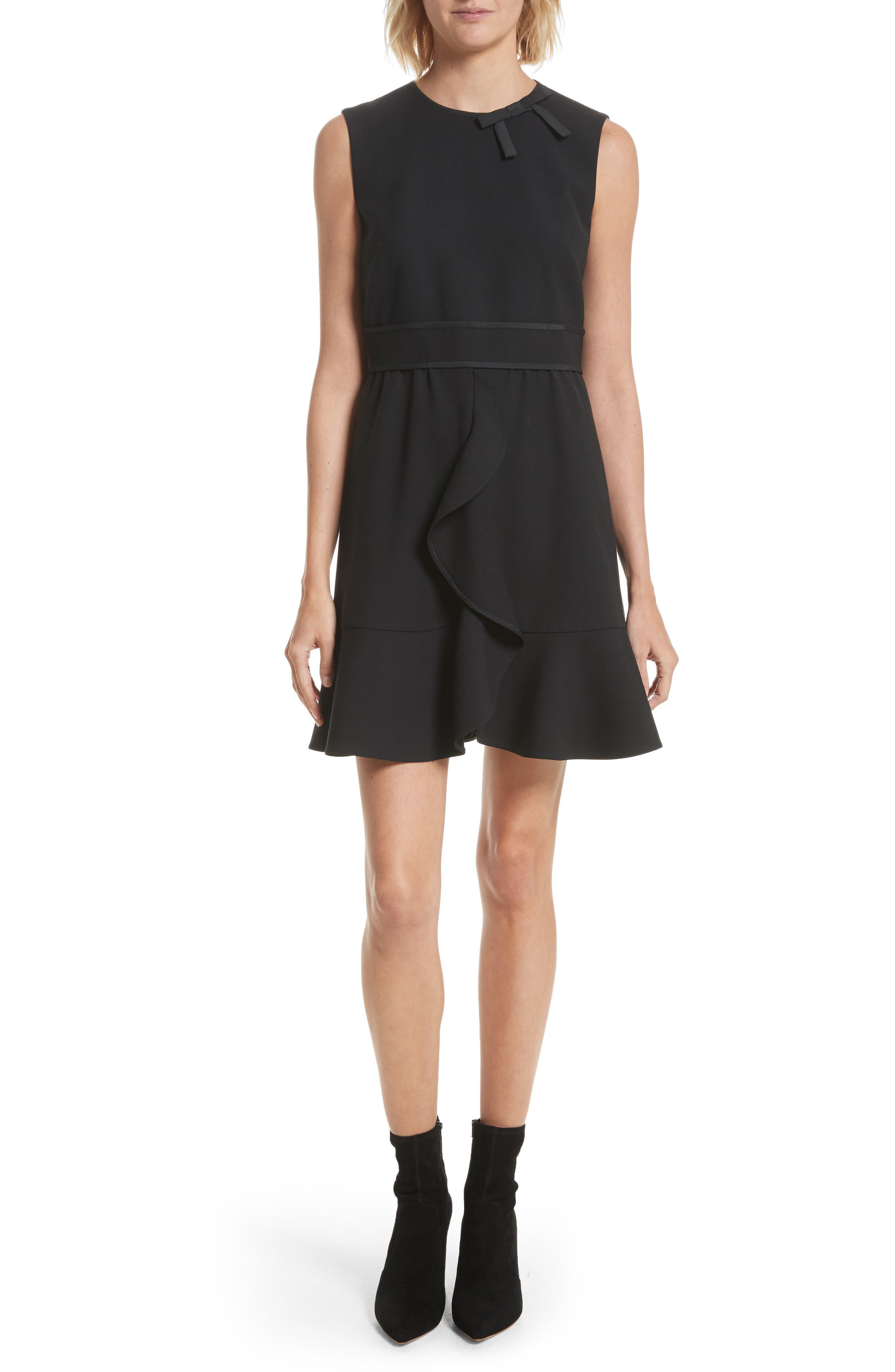Cady Tech Dress,                         Main,                         color, 001