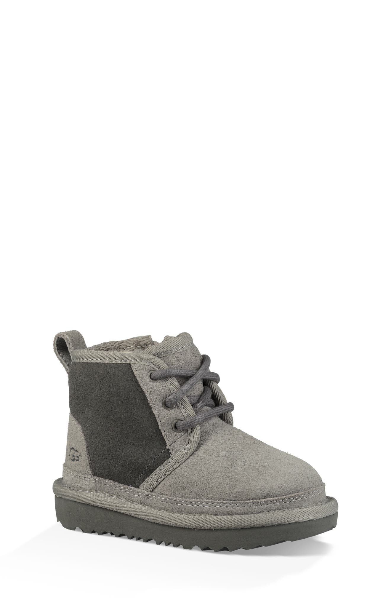 Neumel II Water Resistant Chukka Boot,                         Main,                         color, CHARCOAL