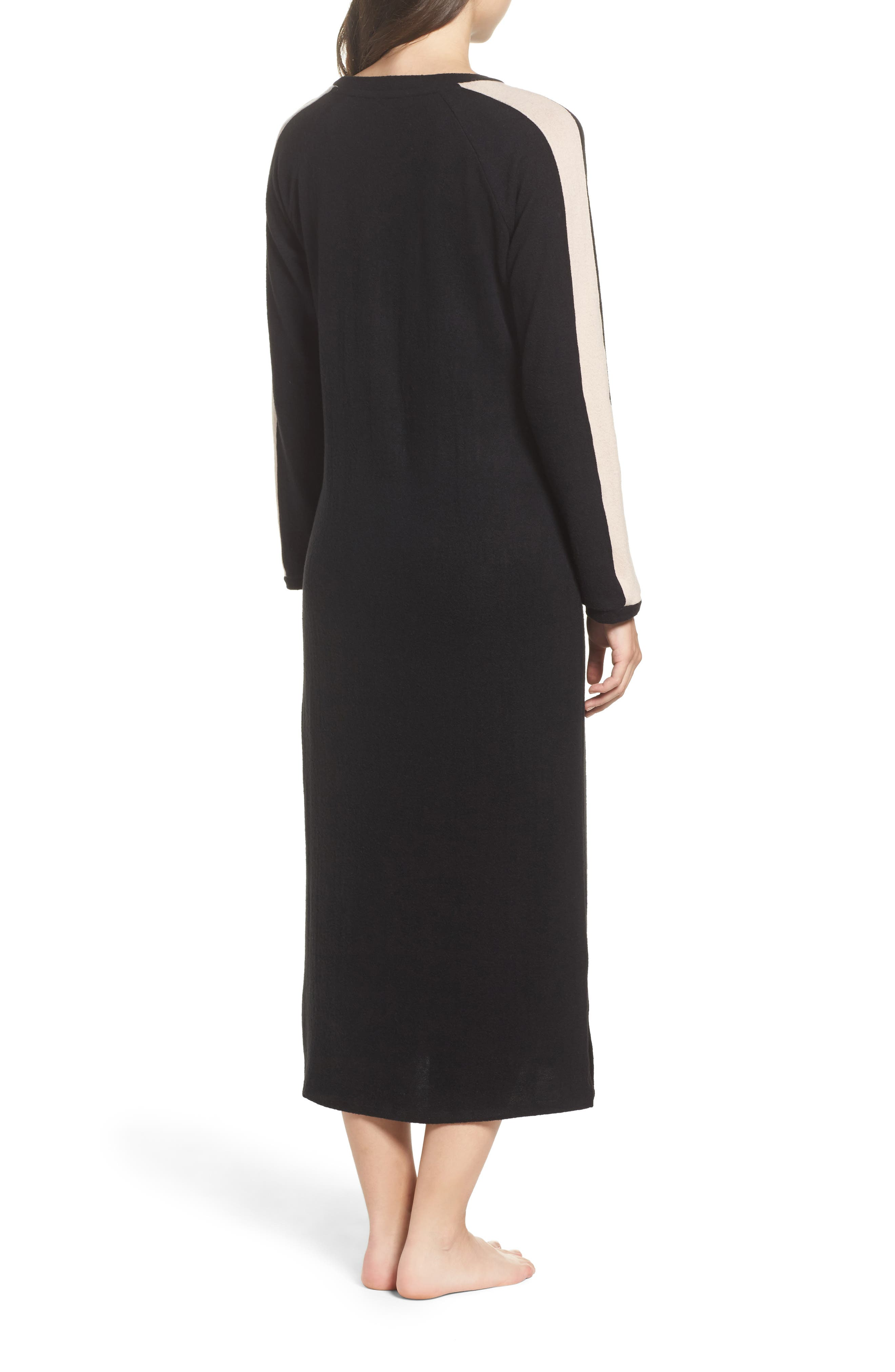 Maxi Nightgown,                             Alternate thumbnail 2, color,                             001