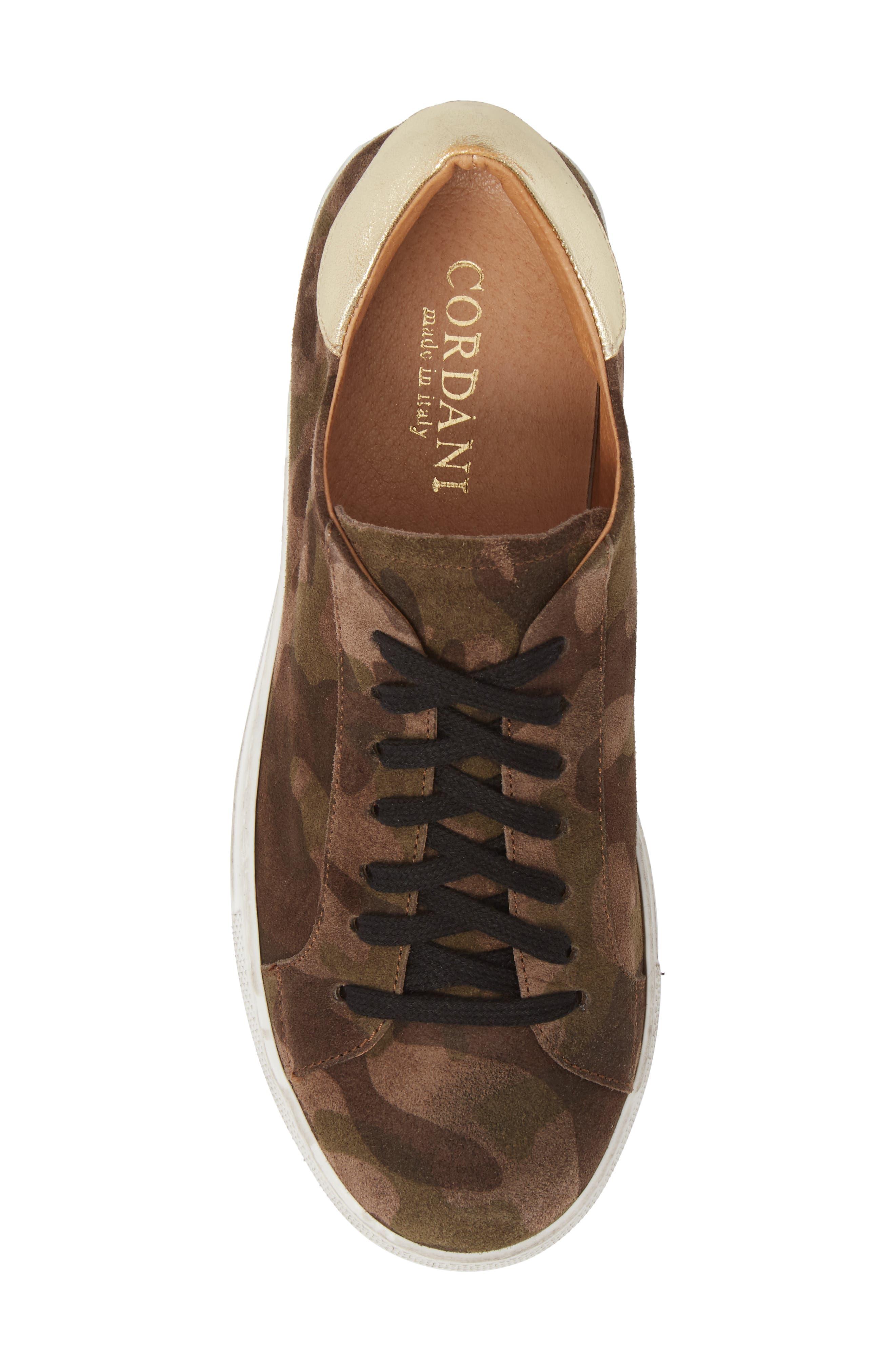 Orissa Sneaker,                             Alternate thumbnail 5, color,                             MILITARY PRINT SUEDE