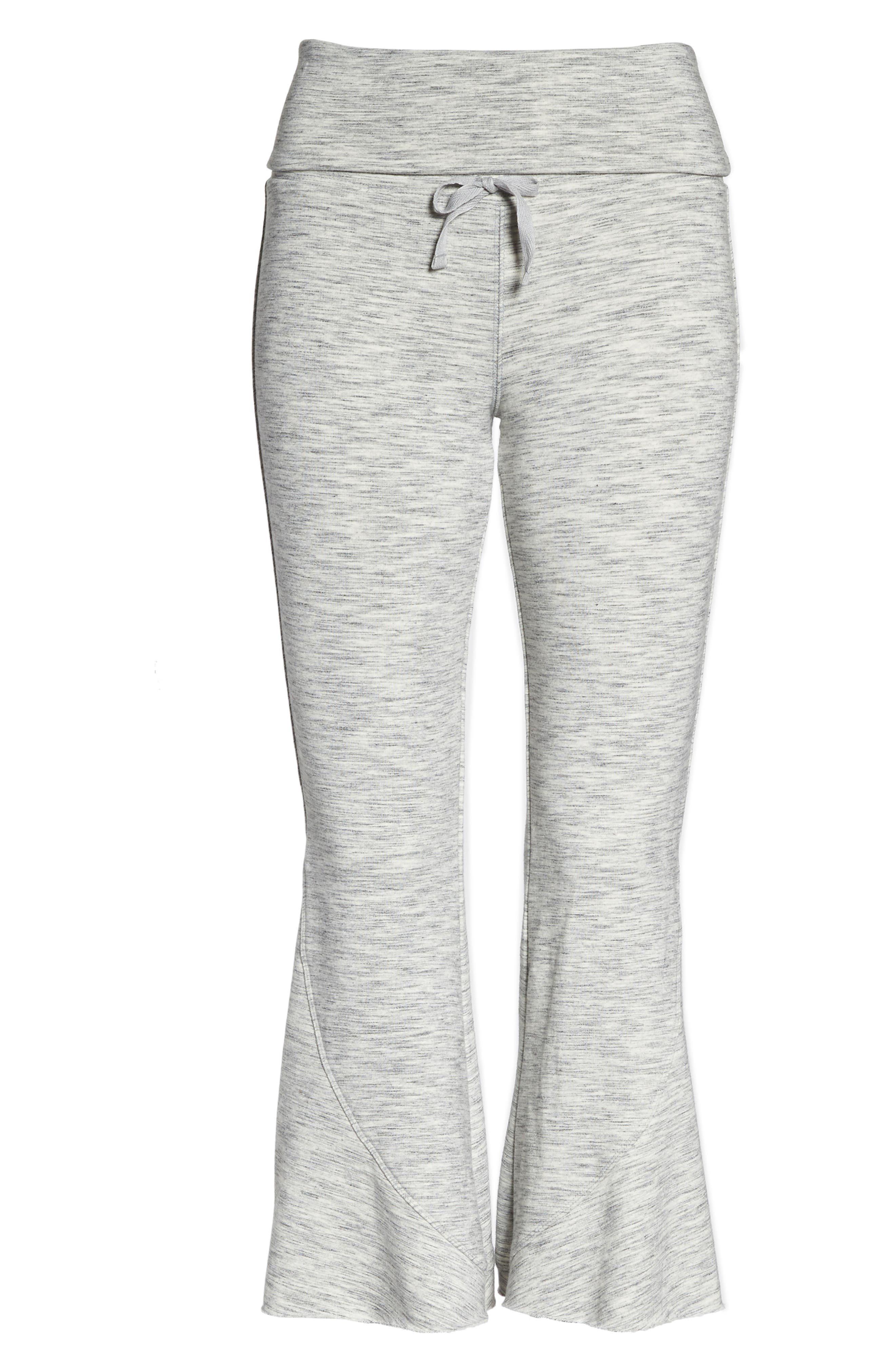 FP Movement Nico Crop Flare Sweatpants,                             Alternate thumbnail 7, color,                             025