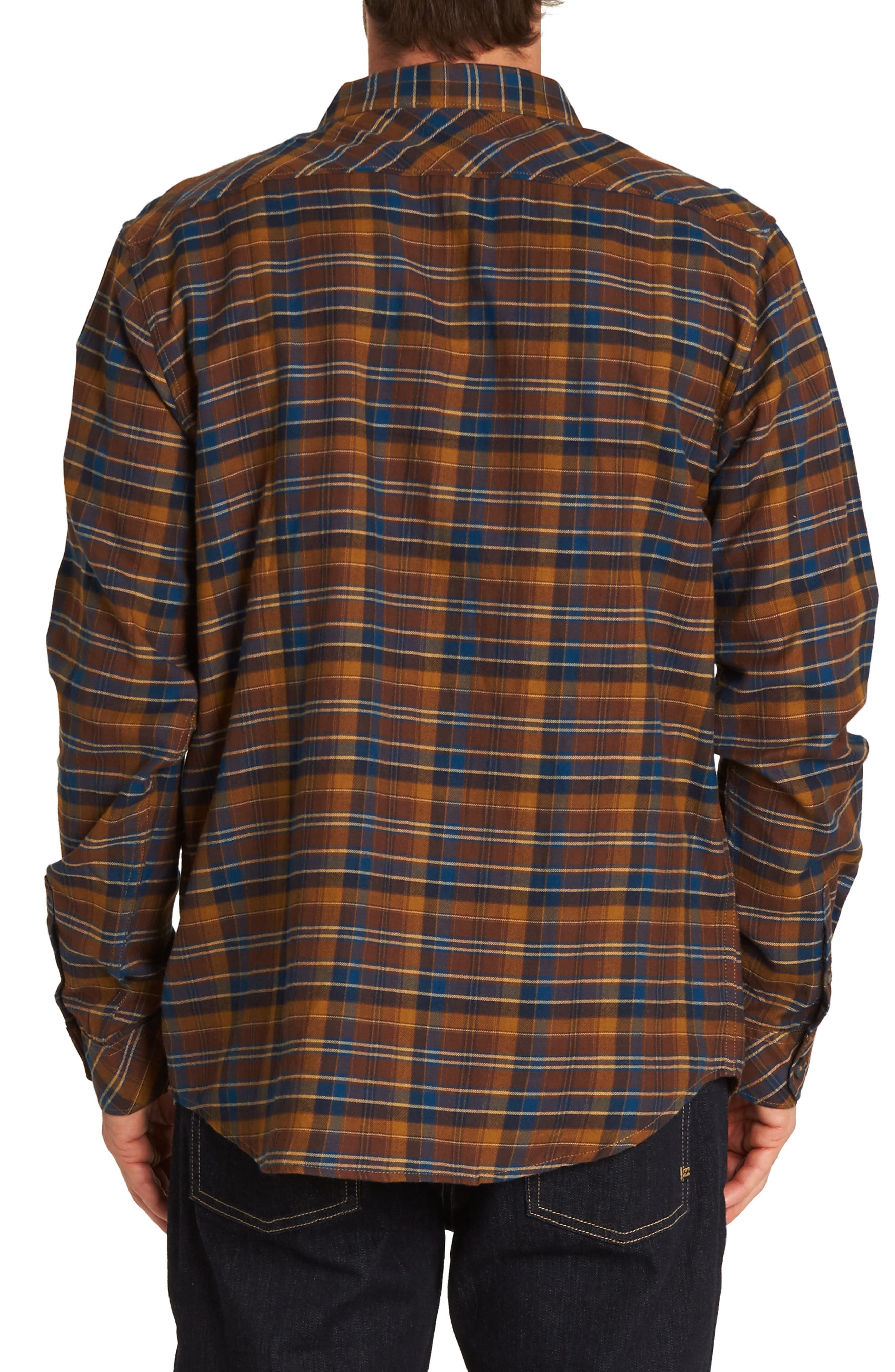 Freemont Flannel Shirt,                             Alternate thumbnail 2, color,                             HASH