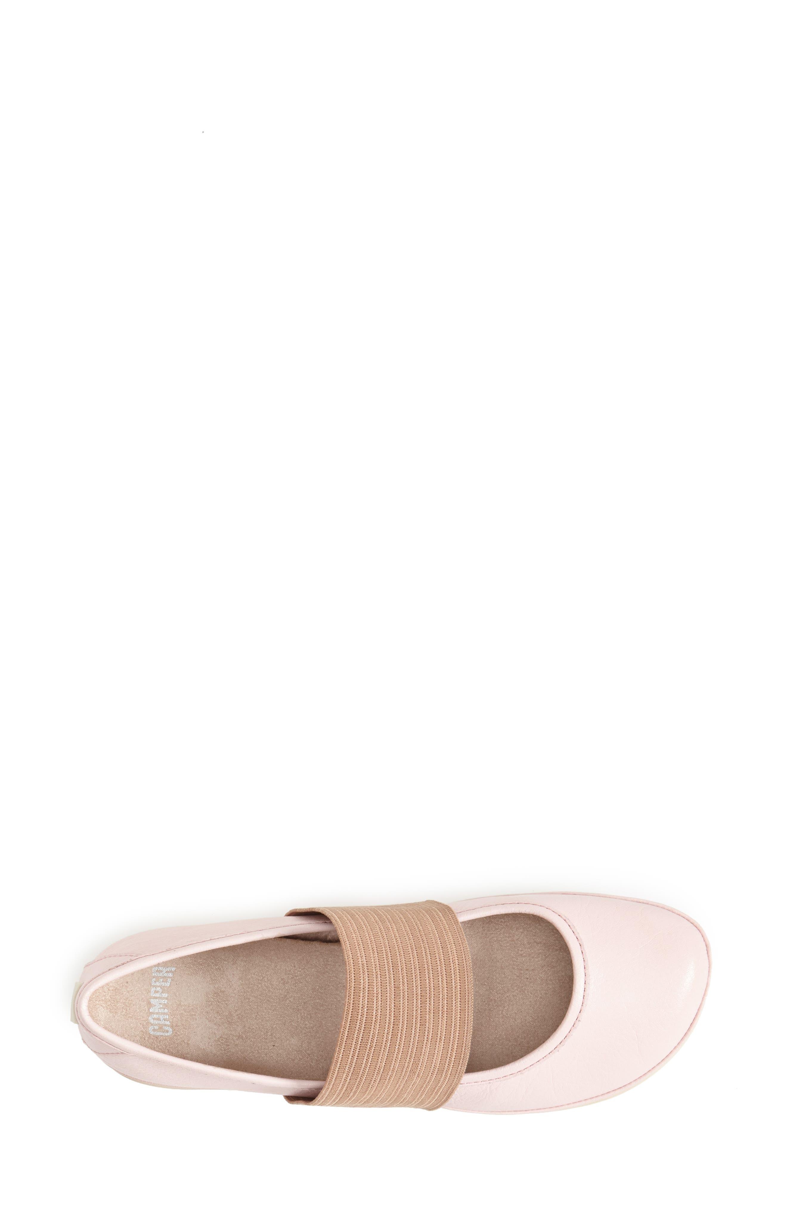 'Right Nina' Leather Ballerina Flat,                             Alternate thumbnail 74, color,