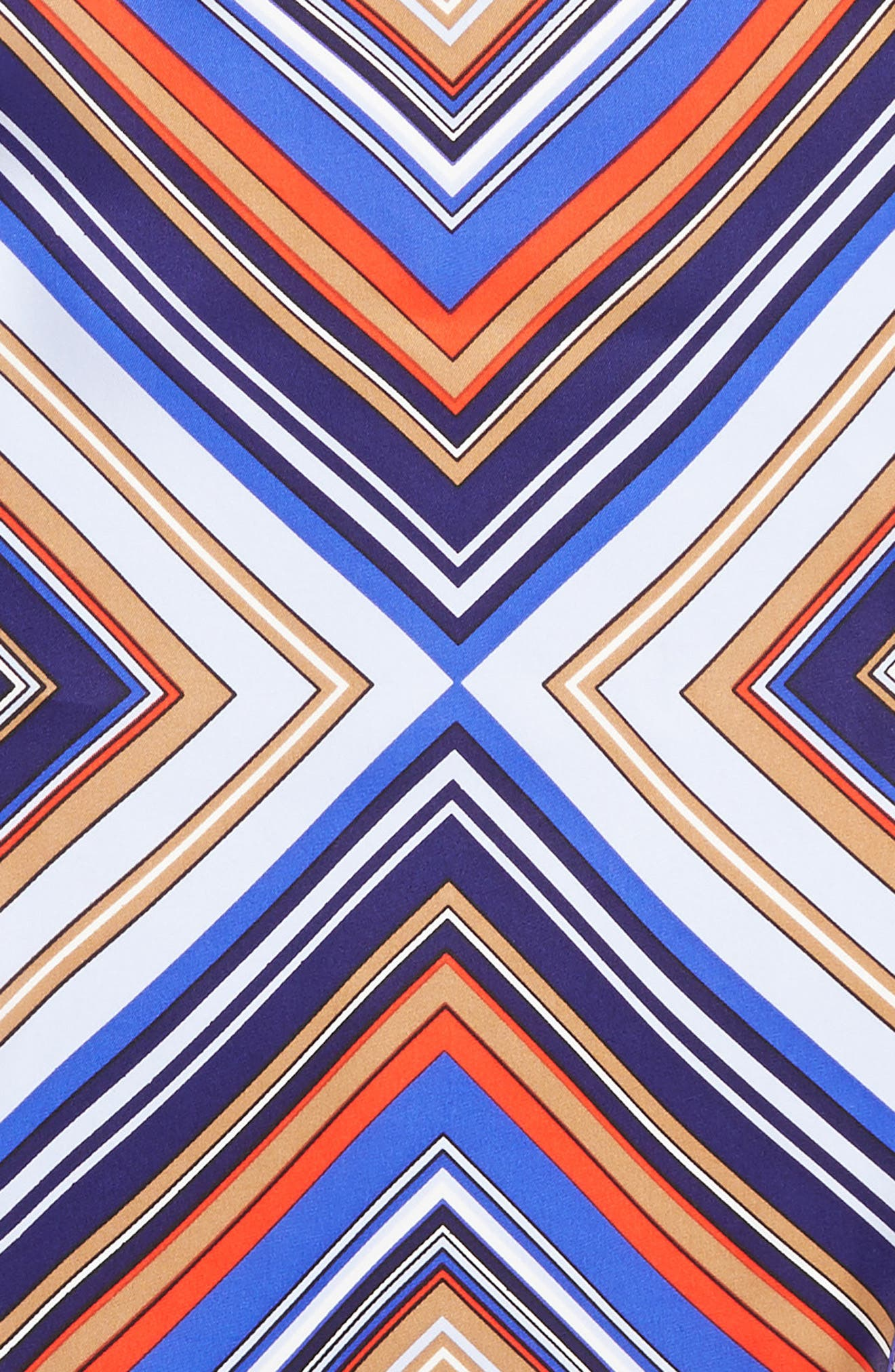 Stripe Diamond Silk Scarf,                             Alternate thumbnail 4, color,