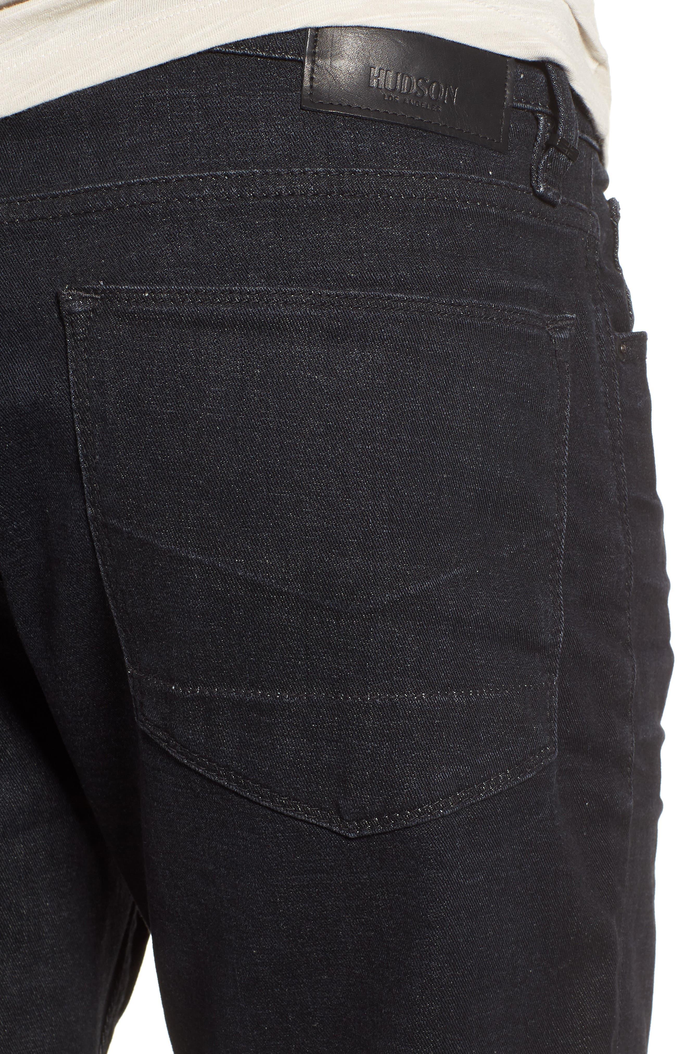 Zack Skinny Fit Jeans,                             Alternate thumbnail 4, color,                             001