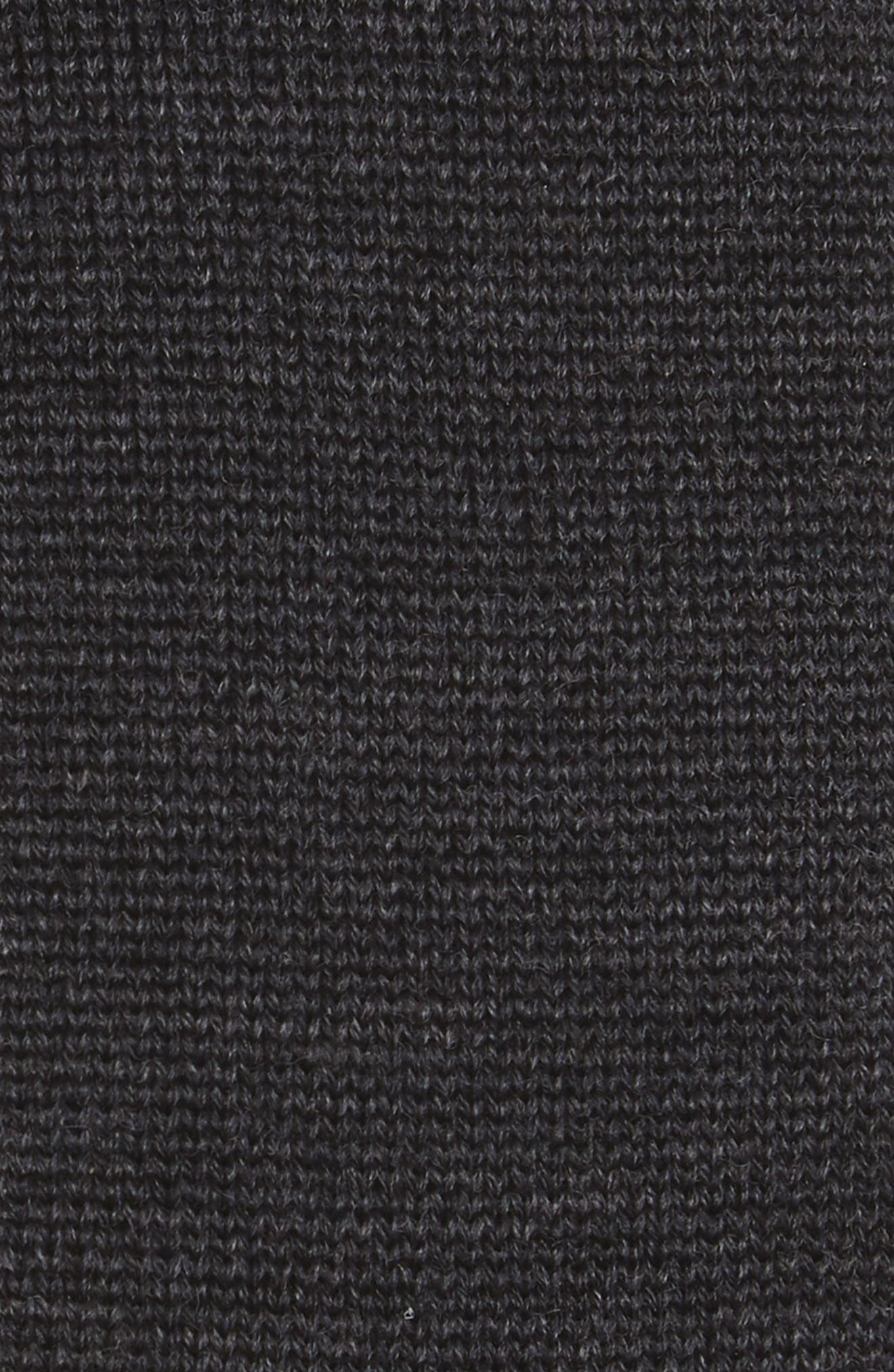 4-Bar Wool Knit Tie,                             Alternate thumbnail 6, color,