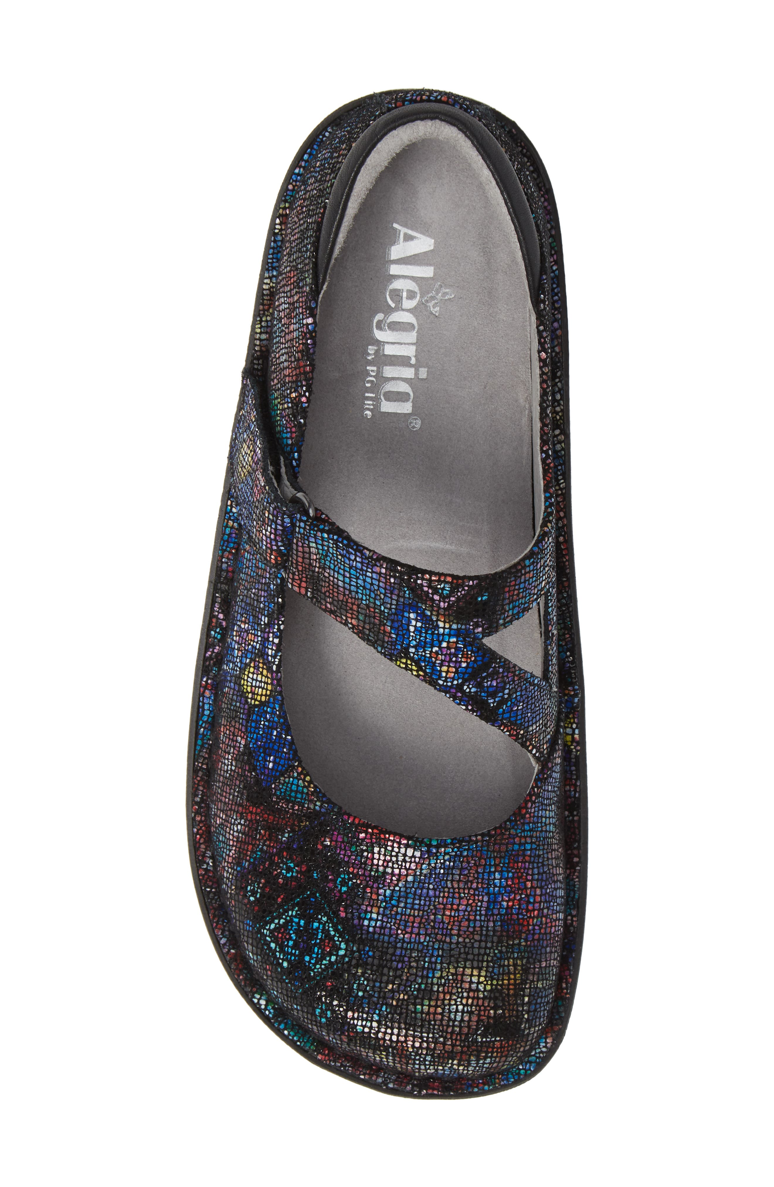 ALEGRIA,                             'Dayna' Slip-On,                             Alternate thumbnail 5, color,                             BEAUTY BLUR LEATHER