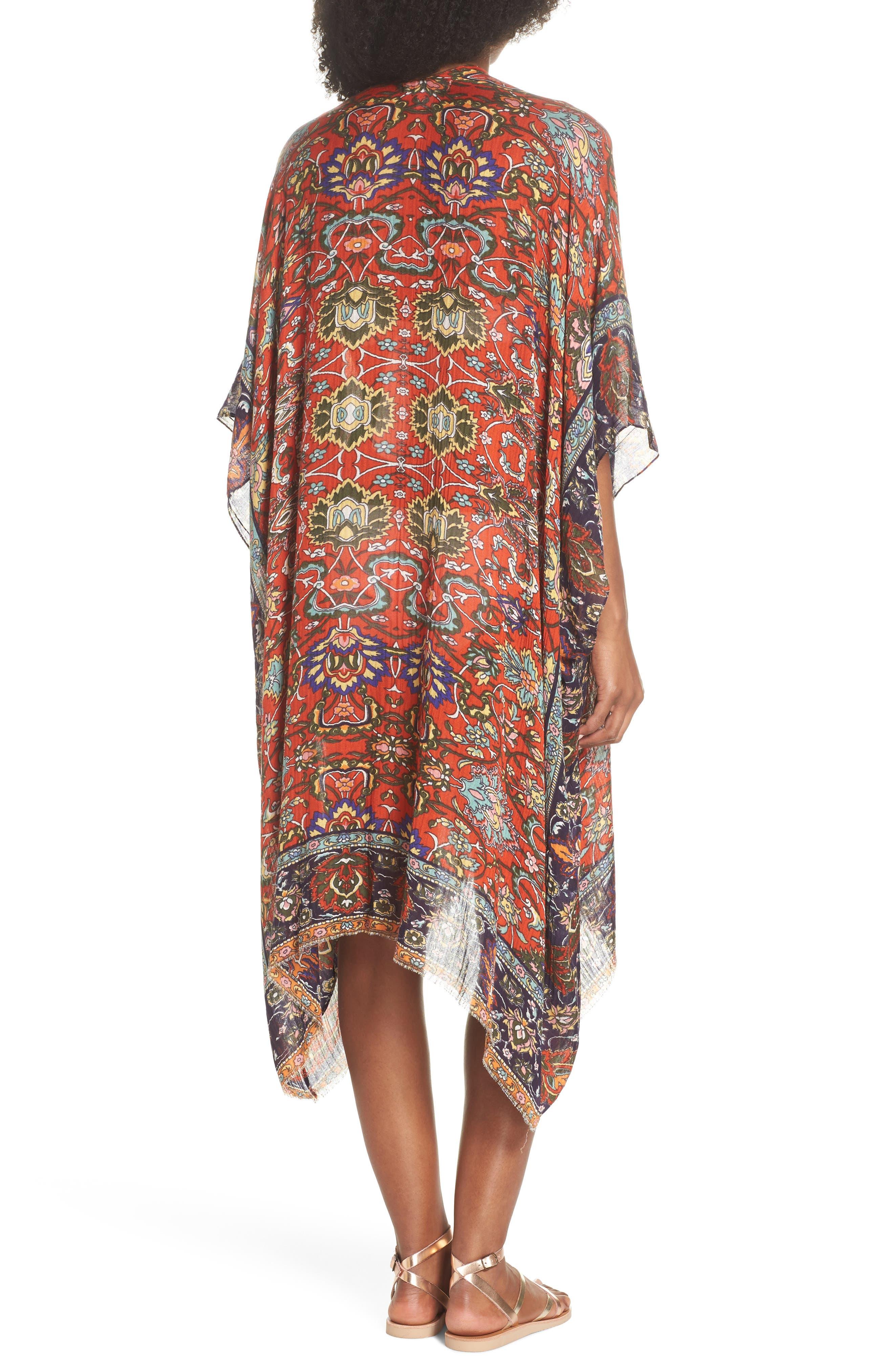 Cover-Up Kimono,                             Alternate thumbnail 2, color,