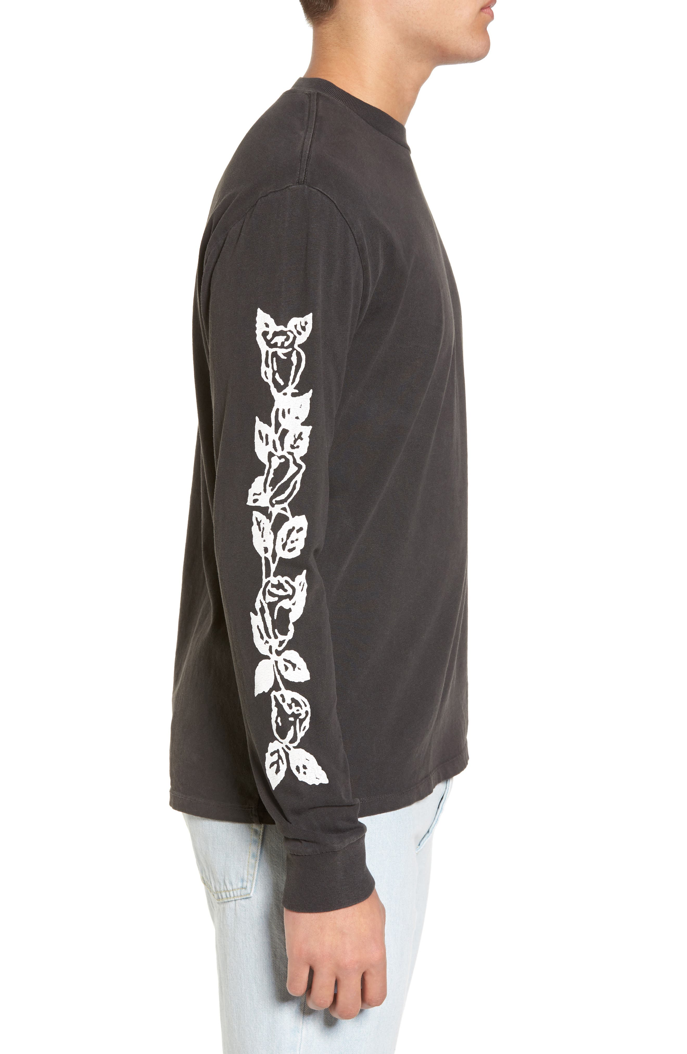 Old Rose Tattoo T-Shirt,                             Alternate thumbnail 3, color,