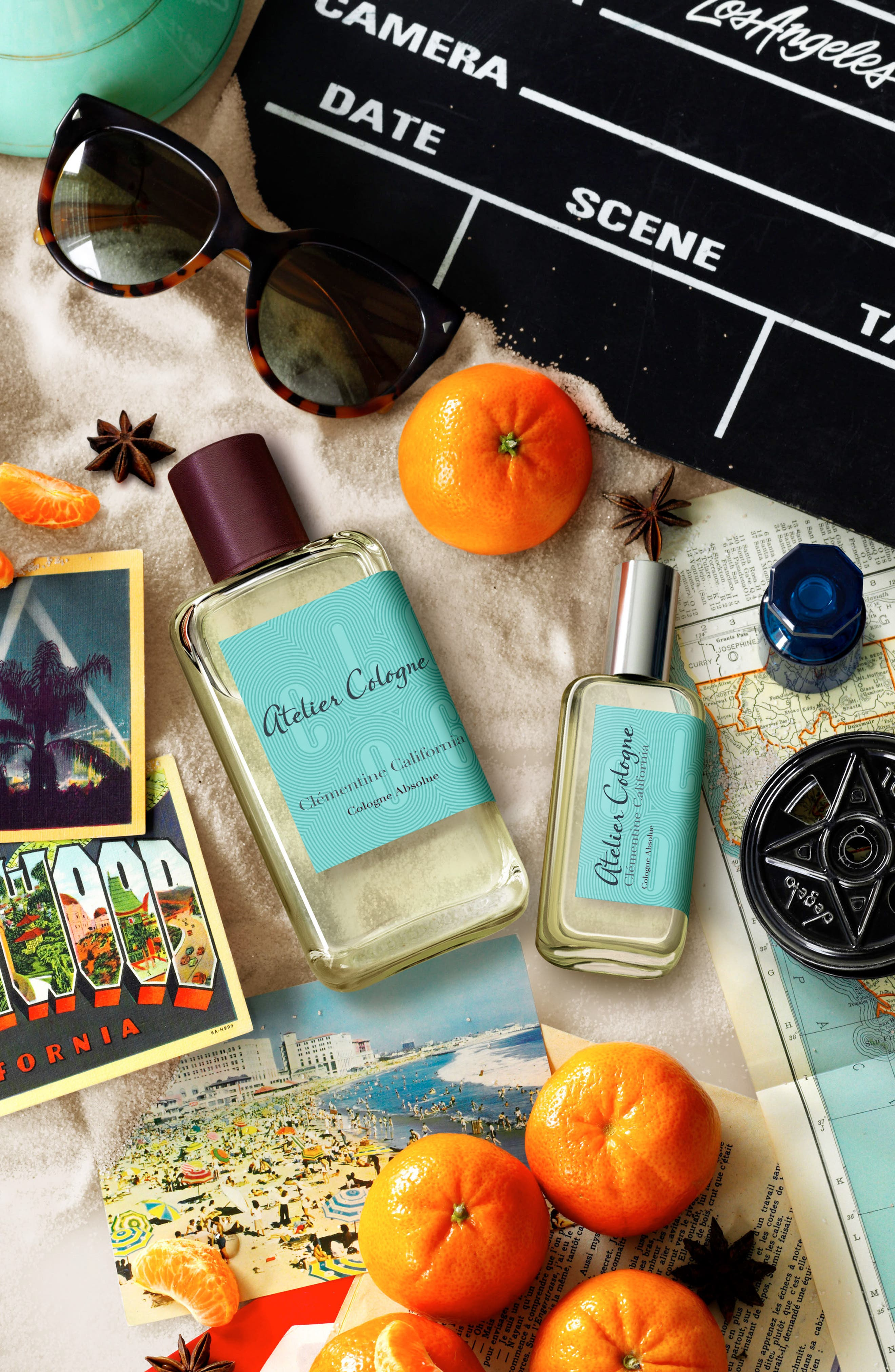 Clémentine California Cologne Absolue,                             Alternate thumbnail 4, color,                             000