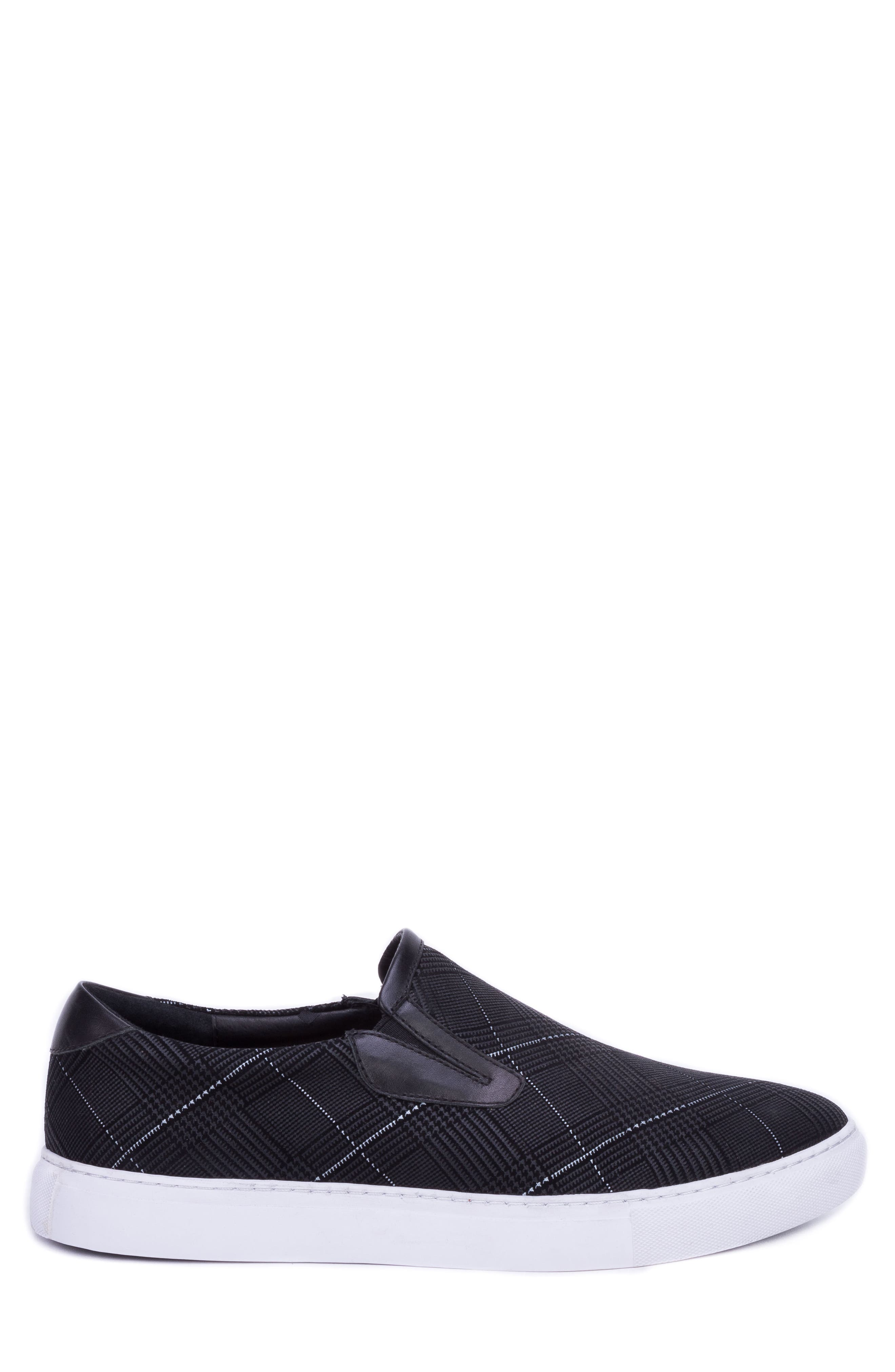 Kerby Slip-On Sneaker,                             Alternate thumbnail 3, color,                             BLACK SUEDE