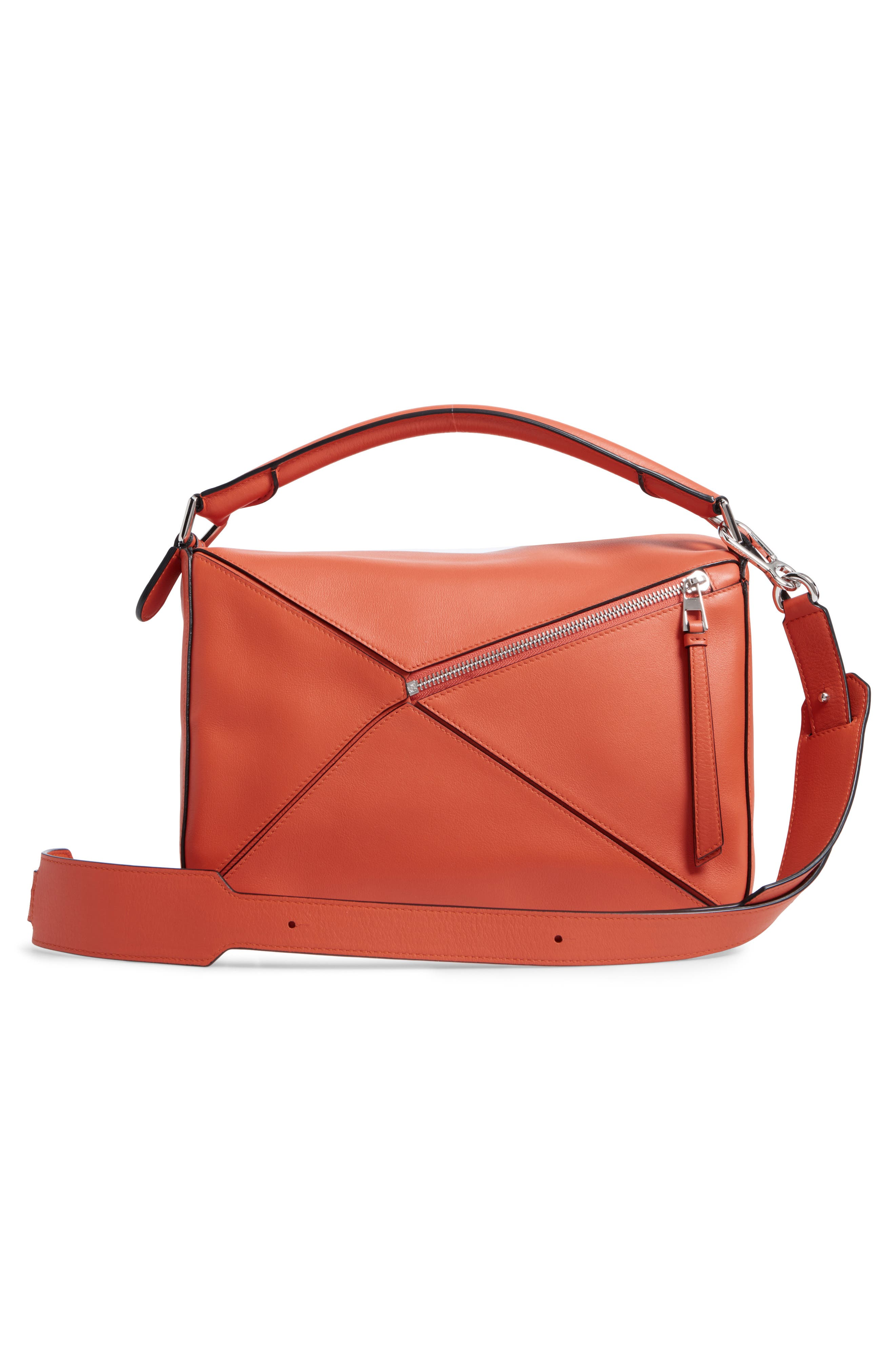 'Small Puzzle' Calfskin Leather Bag,                             Alternate thumbnail 26, color,