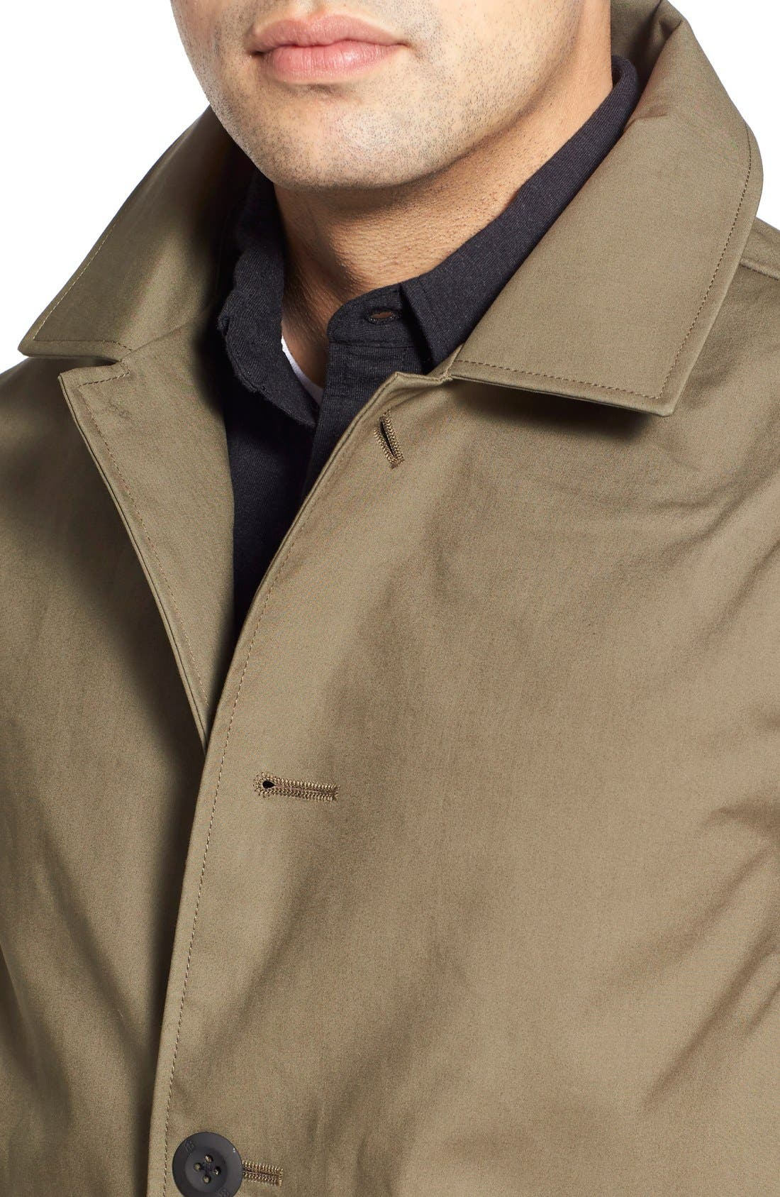 VICTORINOX SWISS ARMY<SUP>®</SUP>,                             'Lenzburg' Longline Waterproof Jacket,                             Alternate thumbnail 6, color,                             961