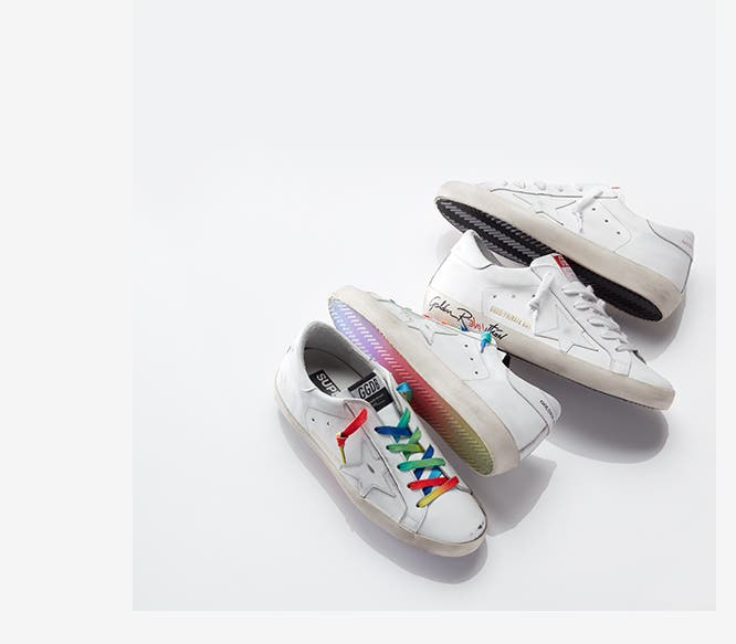 Your new go-to: Golden Goose sneakers