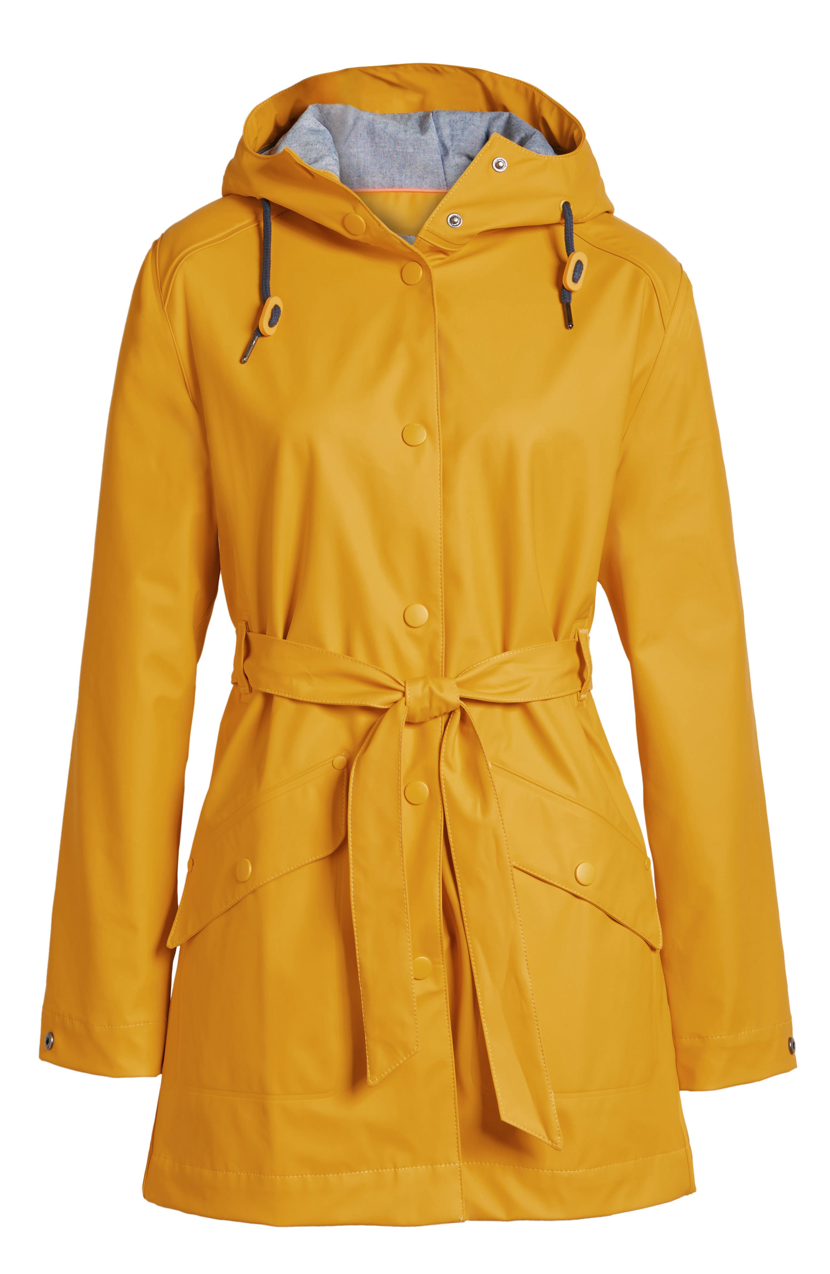 Kirkwall Raincoat,                             Alternate thumbnail 6, color,                             ESSENTIAL YELLOW