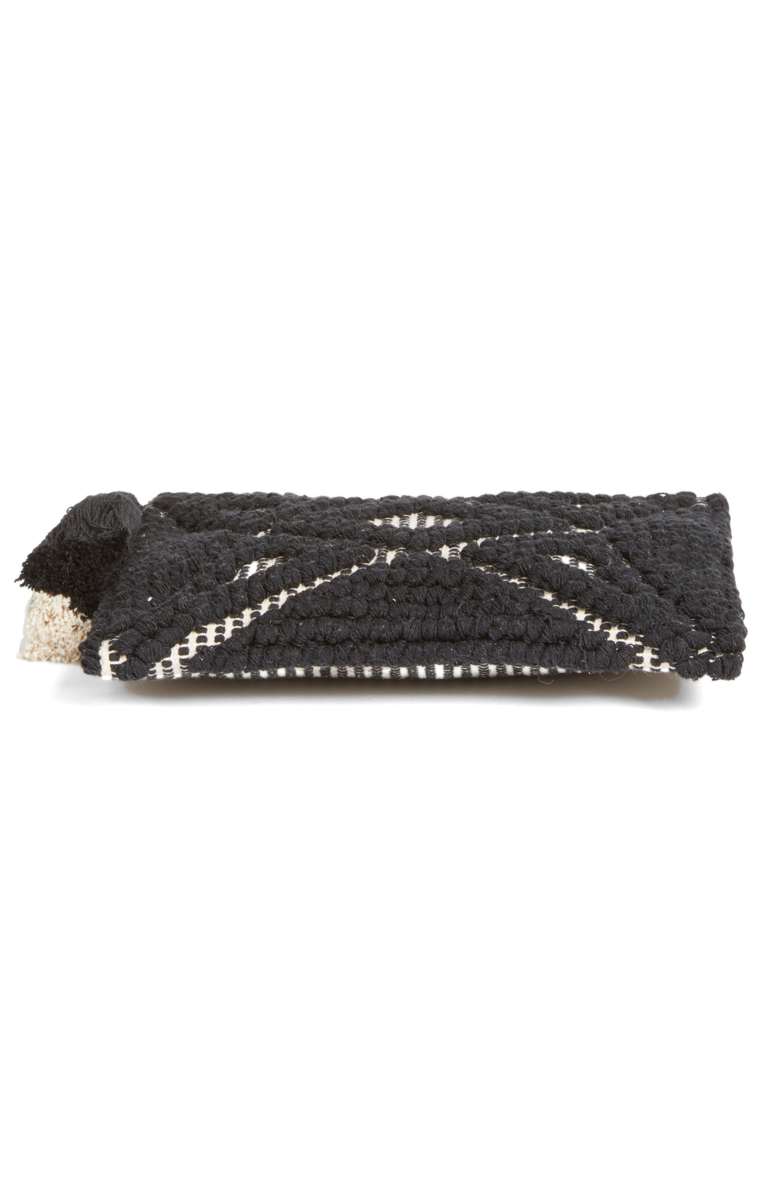 Palisades Tasseled Woven Clutch,                             Alternate thumbnail 31, color,
