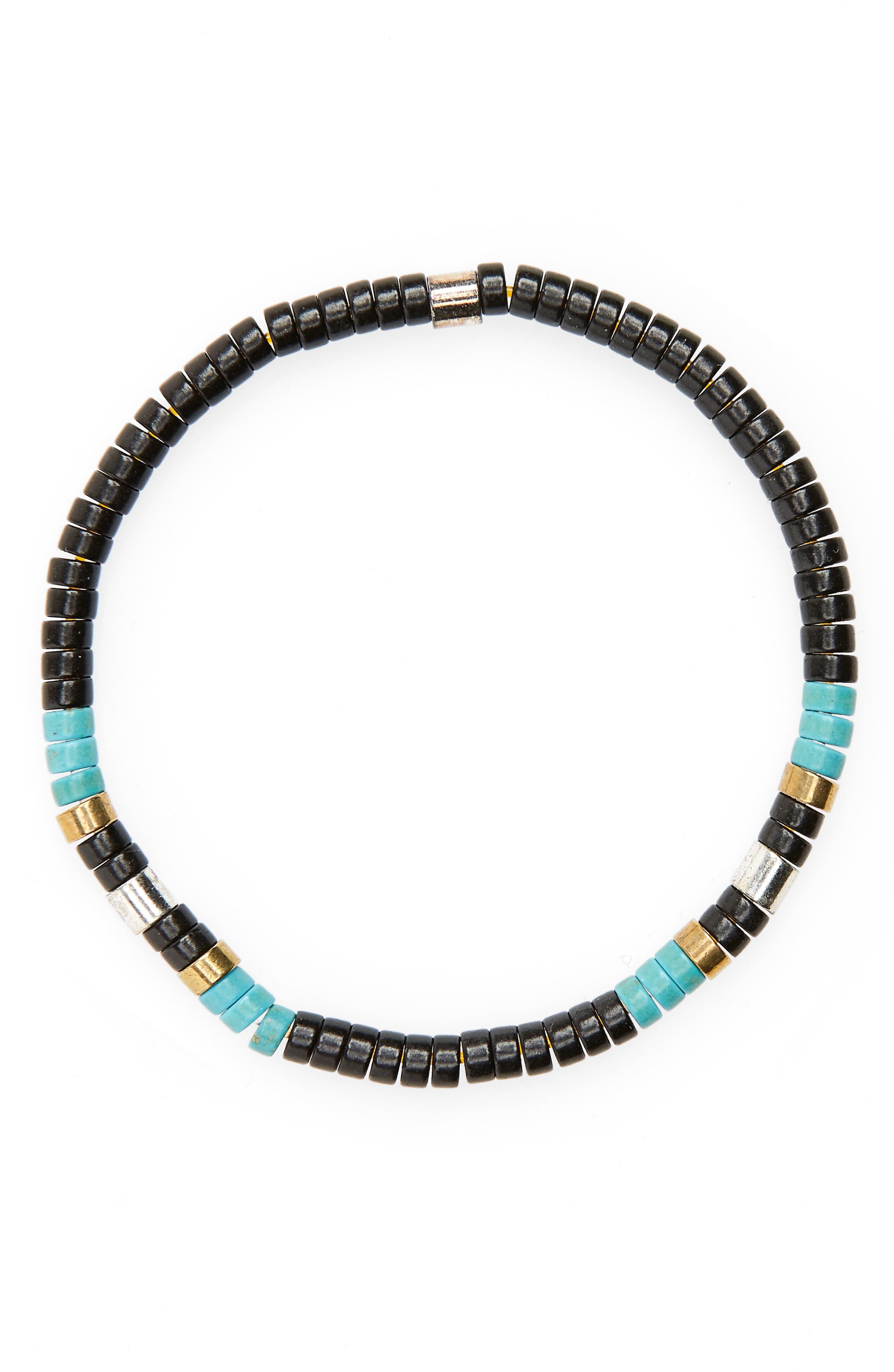 Shell Bead Bracelet,                             Main thumbnail 1, color,                             002